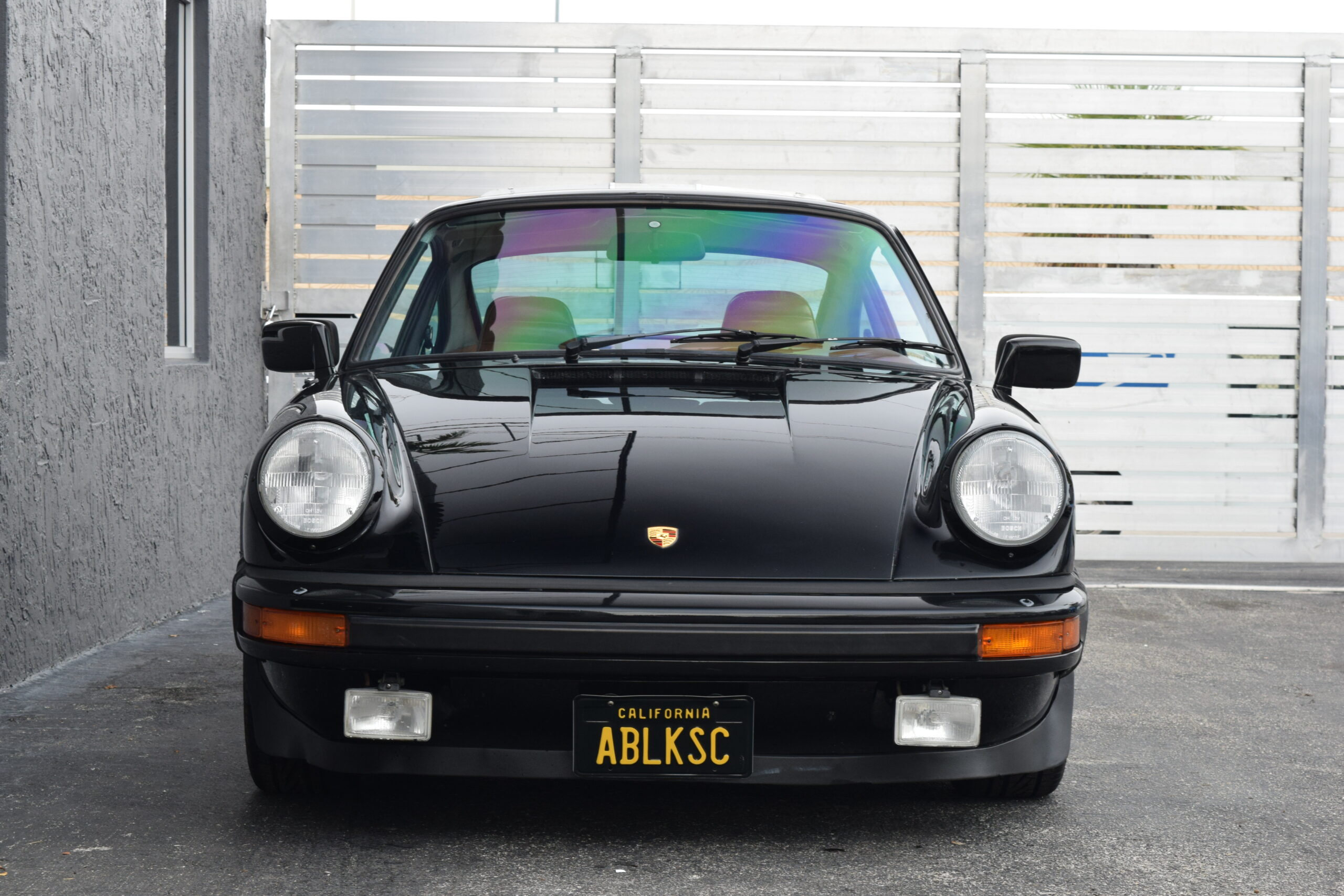 1983 Porsche 911 911 SC One owner for most of its life, Black California Customs Plates, CA Smog valid
