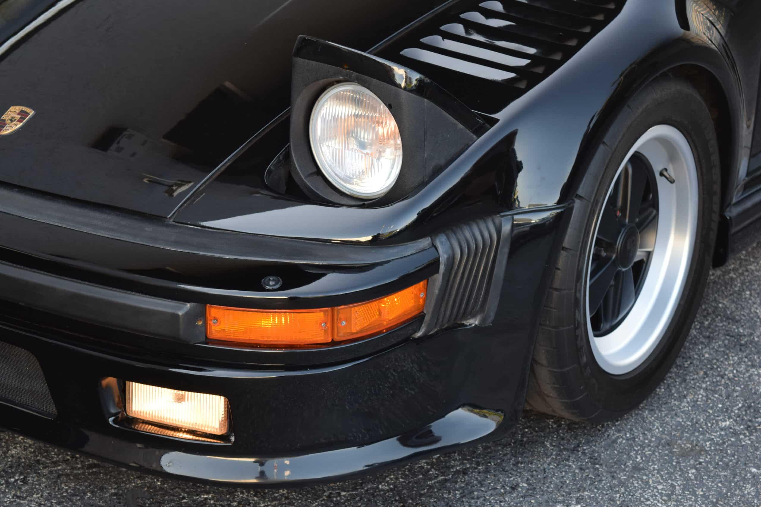 1987 Porsche 930 Turbo BlackburnDaly Slant Nose, 40K miles, Service history, books and stamps