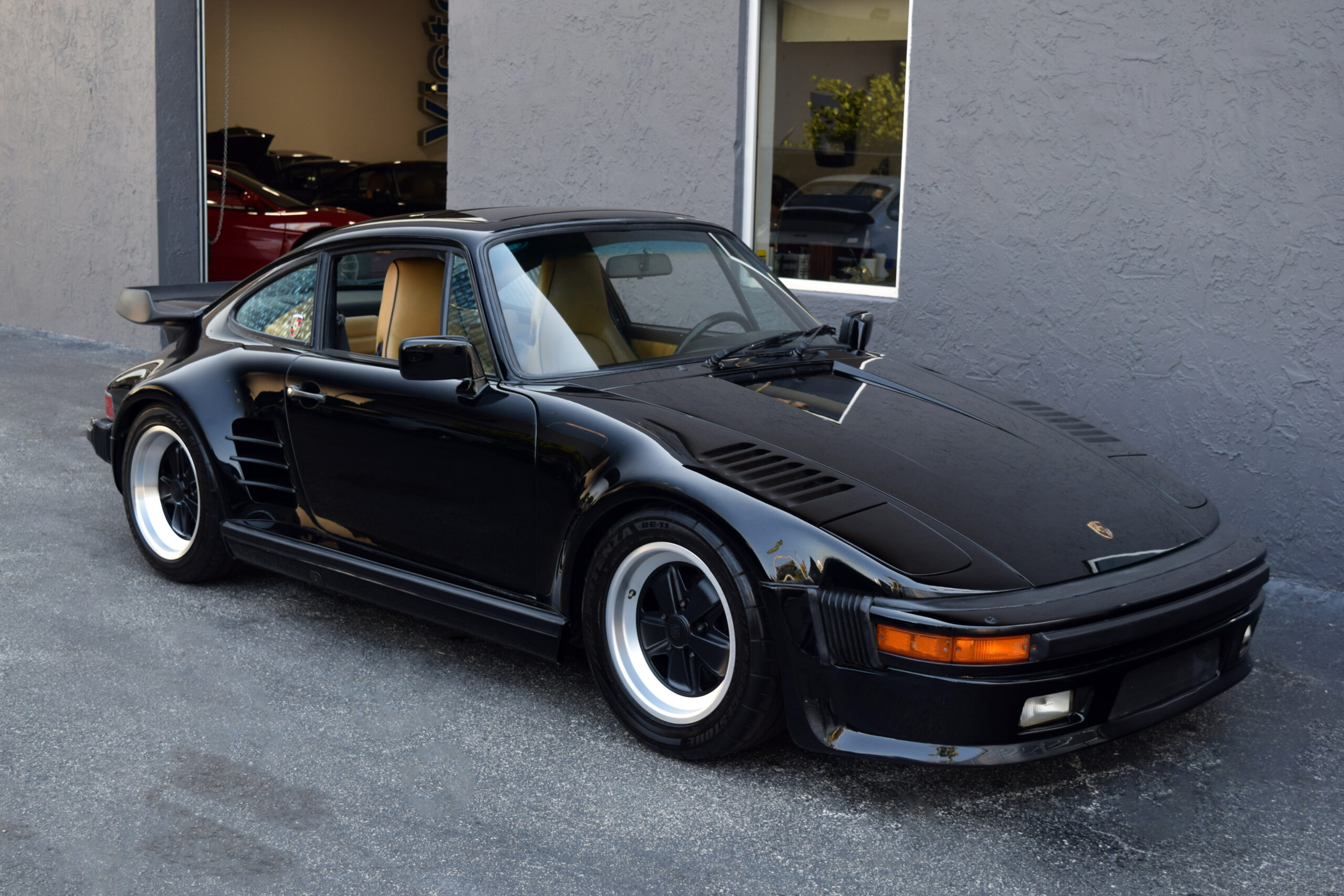 1987 Porsche 930 Turbo BlackburnDaly Slant Nose, 40K miles, Service history, books and stamps