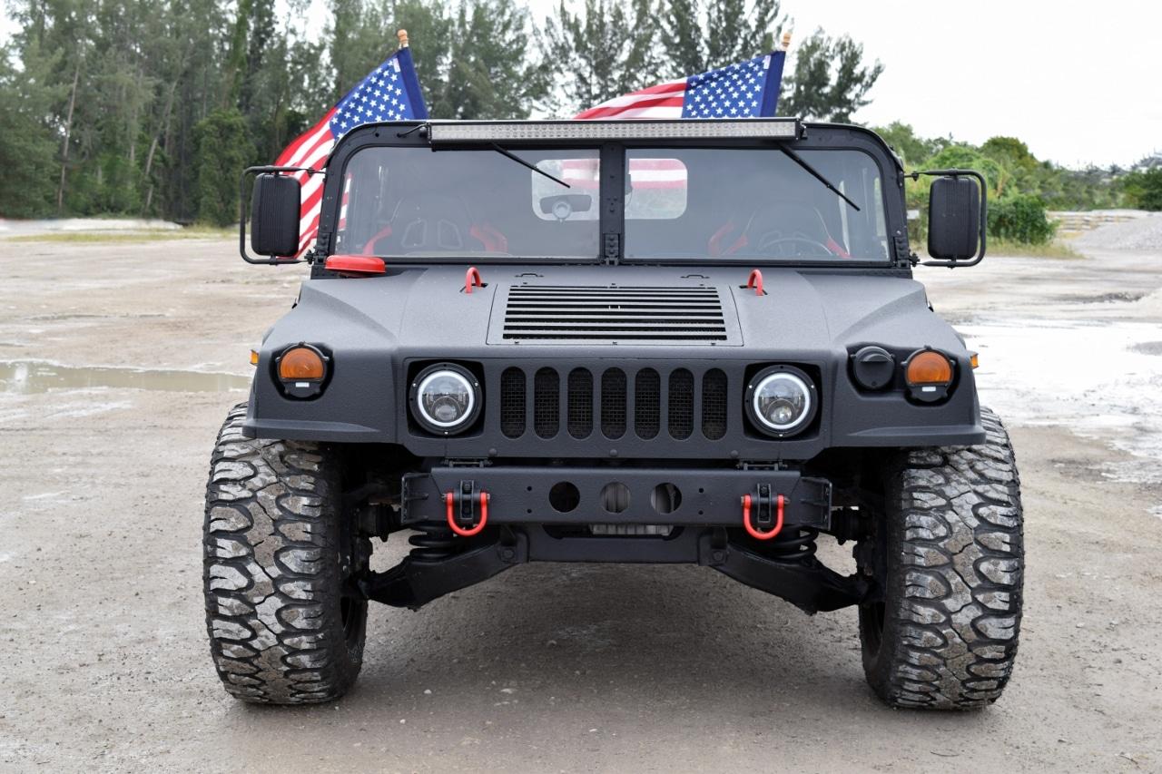 1988 Hummer H1 AM GENERAL Over $35k Invested- Real Military M988 Humvee – 6.5L Diesel