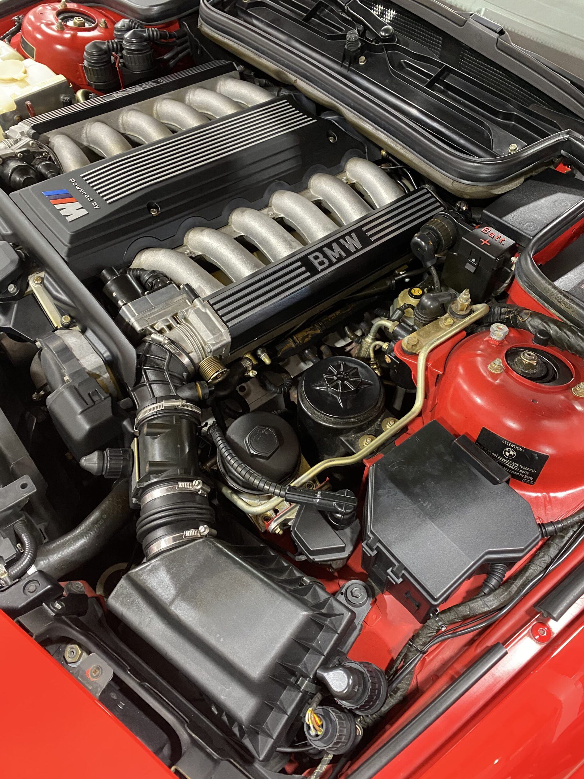 1994 BMW 8-Series E31 850CSI Rare 1 of 225 US Cars-Only 74k Miles-V12 6 Speed-Original Window Sticker-2 Owner