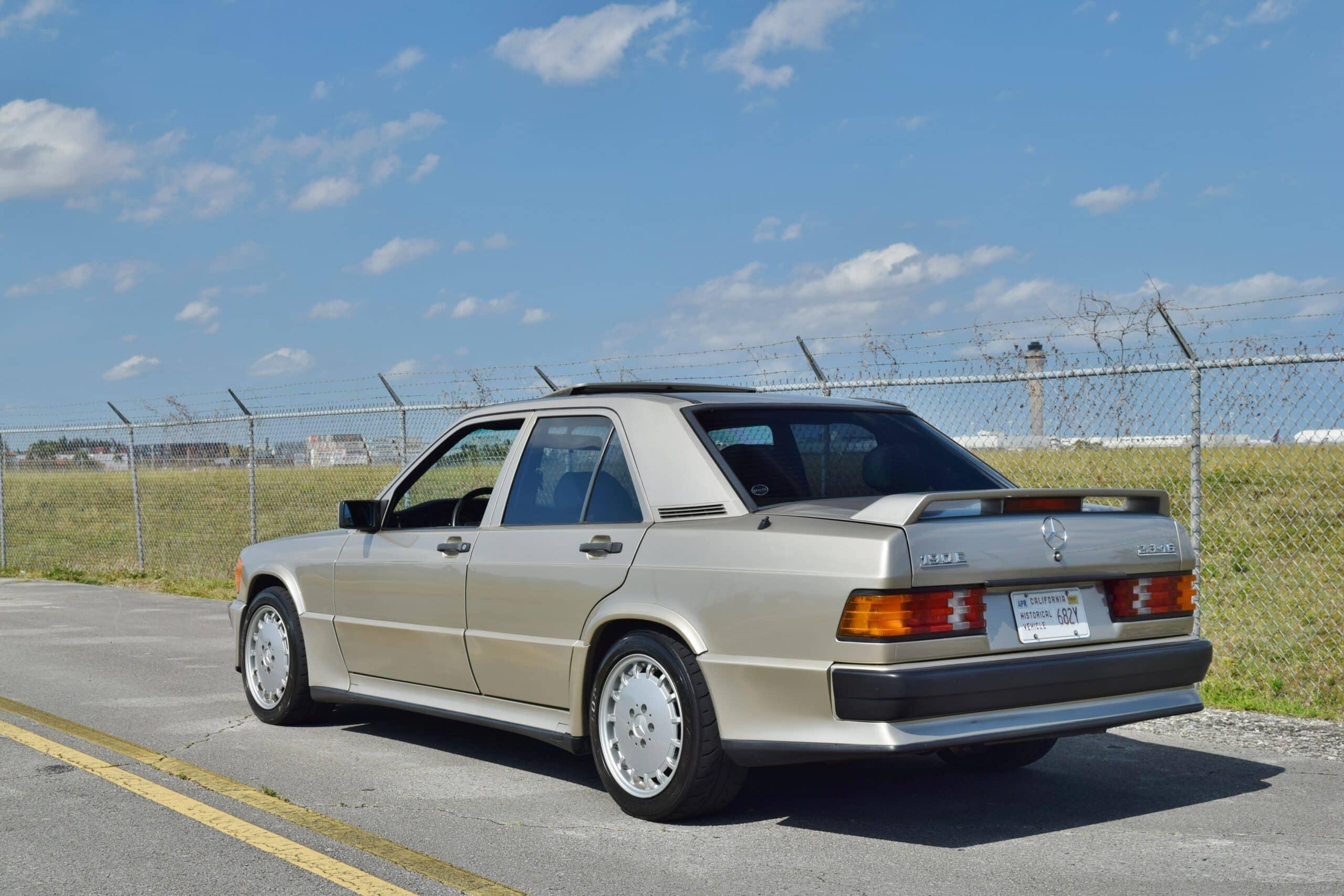 1987 Mercedes-Benz 190E 2.3 -16 Cosworth Rare Dogleg 5 Speed Manual – Recaro Seats