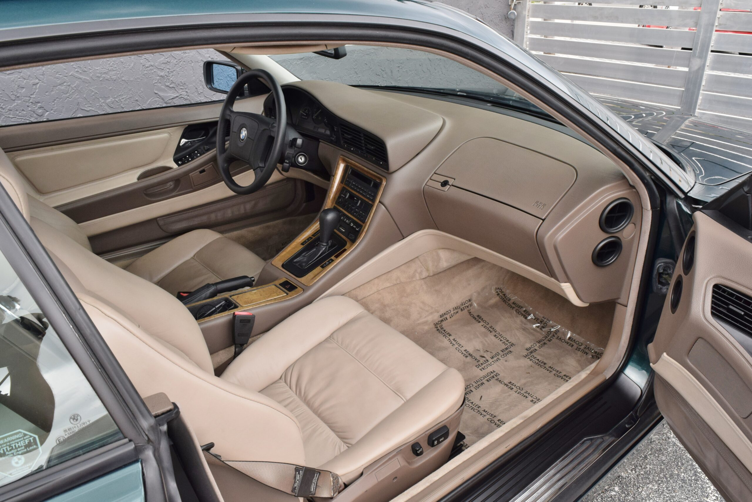 1997 BMW 8-Series Last Year 840 – Rare Oxford Green – Only 2 Owners – CALIFORNIA CAR SINCE NEW