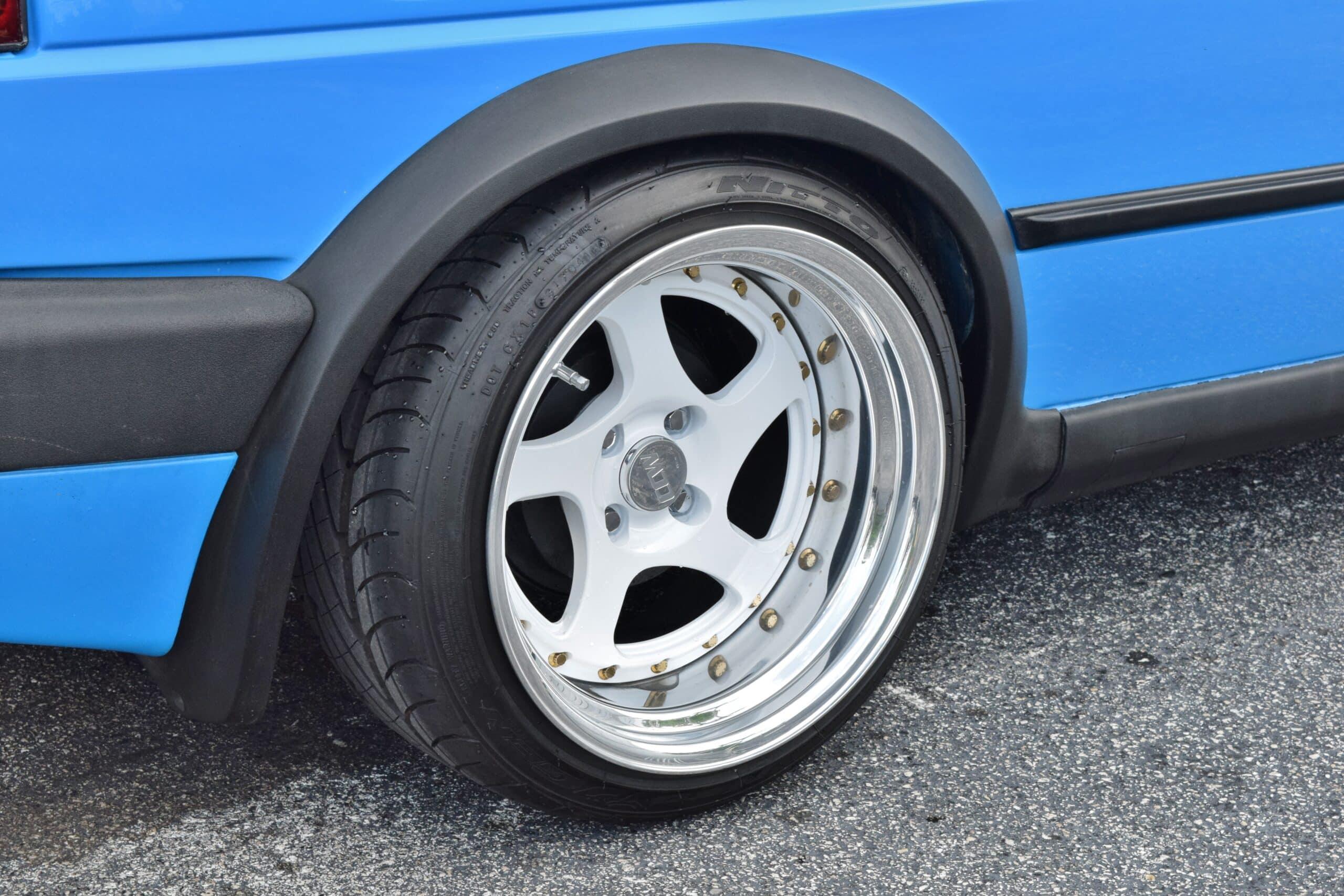 1992 Volkswagen Golf MK2 GTI VR6 SWAP Voodoo Blue Custom Paint-Airlift Suspension-CCW Wheels-Custom Interior-SHOW CAR