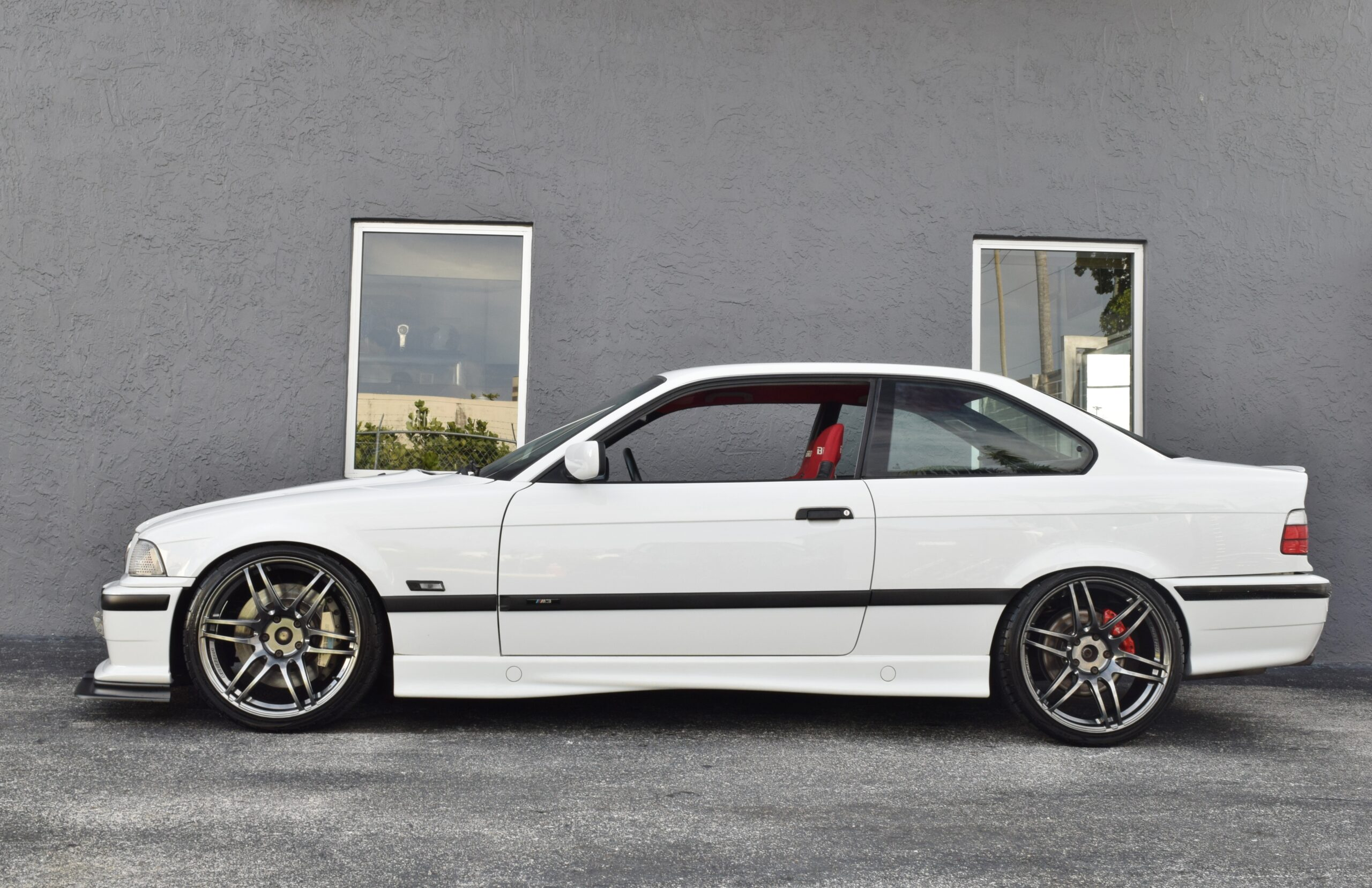 1995 BMW 3-Series E36 SR20DET TURBO 2.1L Bore HKS-6 Speed Manual-Big Brake Kit-Weds Sport Wheels-Bride Seats-Cold AC