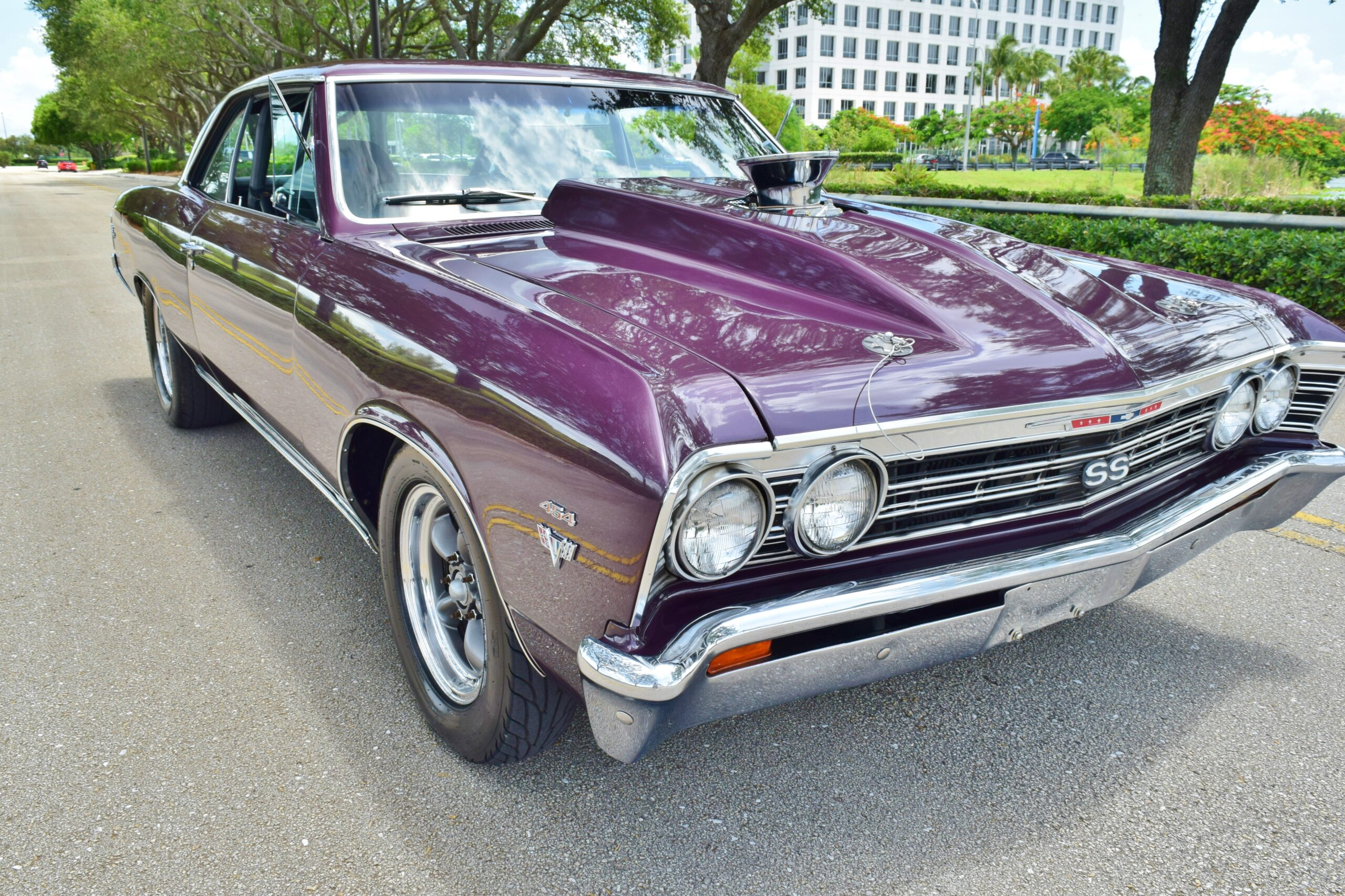 1967 Chevrolet Chevelle Malibu SS 632CI CHEVELLE STREET CAR 632 C.I. 10 LITER / 1000 HP TURBO 400 WITH OVER DRIVE