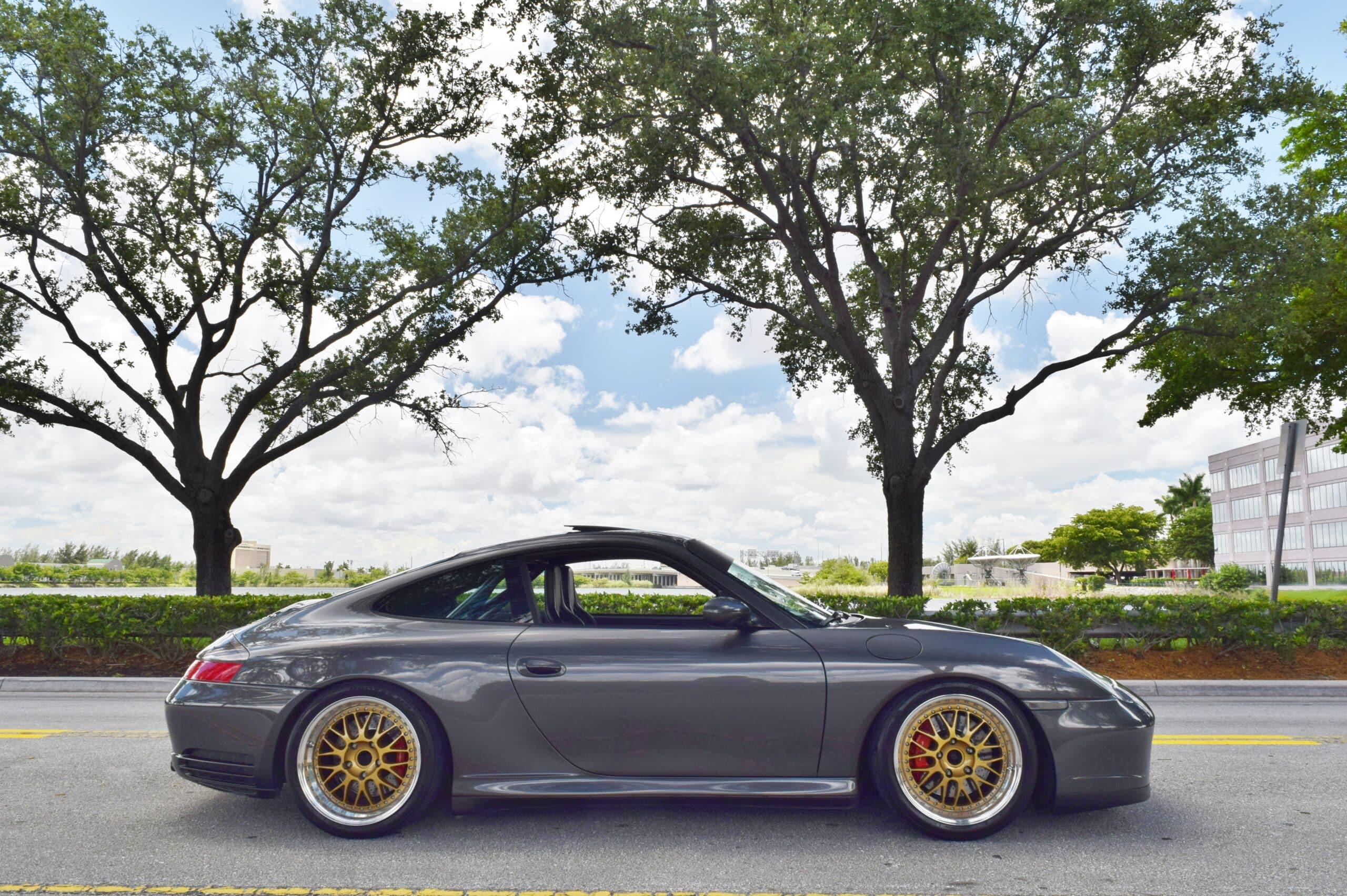 2002 Porsche 911 996 C4S Widebody Show Car- 6 Speed manual -IMS Bearing-Coilovers-Recaro Seats-100% Original Paint