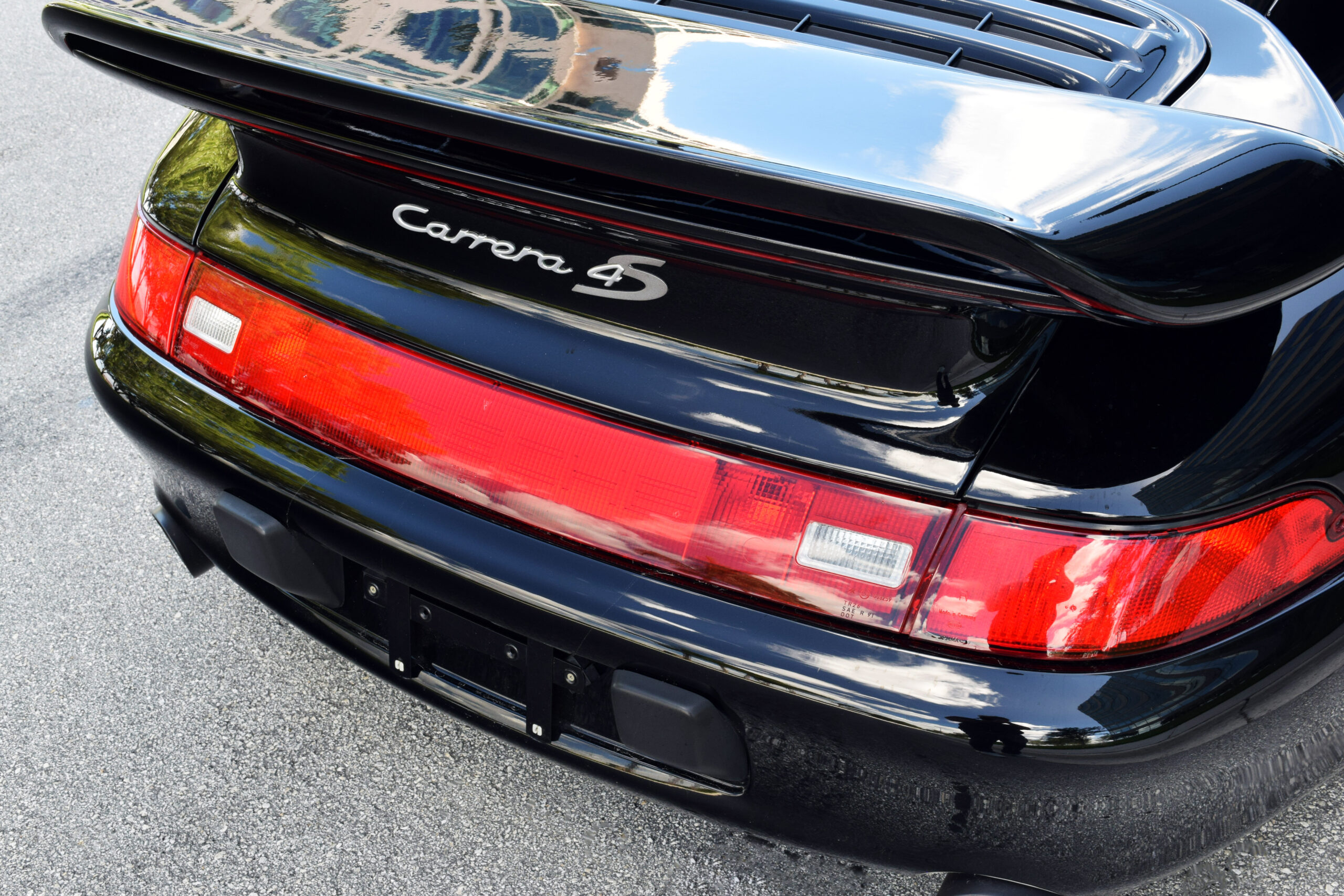 1997 993 Carrera 4S, rare FACTORY TURBO S AEROKIT, loaded with options, service records and manuals