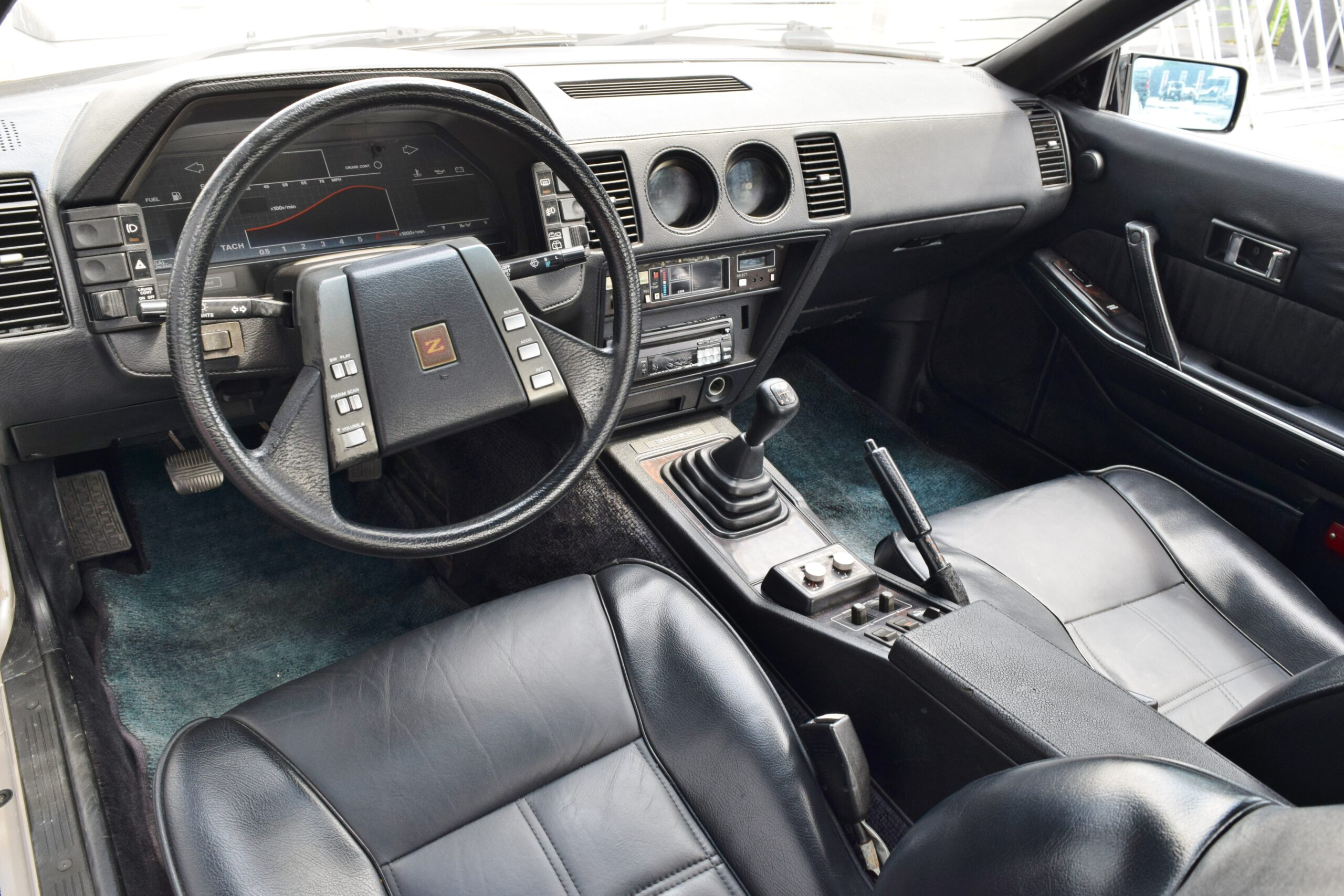 1984 Nissan 300ZX 50th Anniverary Edition Turbocharged-Low Miles- Rare 1 year only -T Tops -5 speed Manual