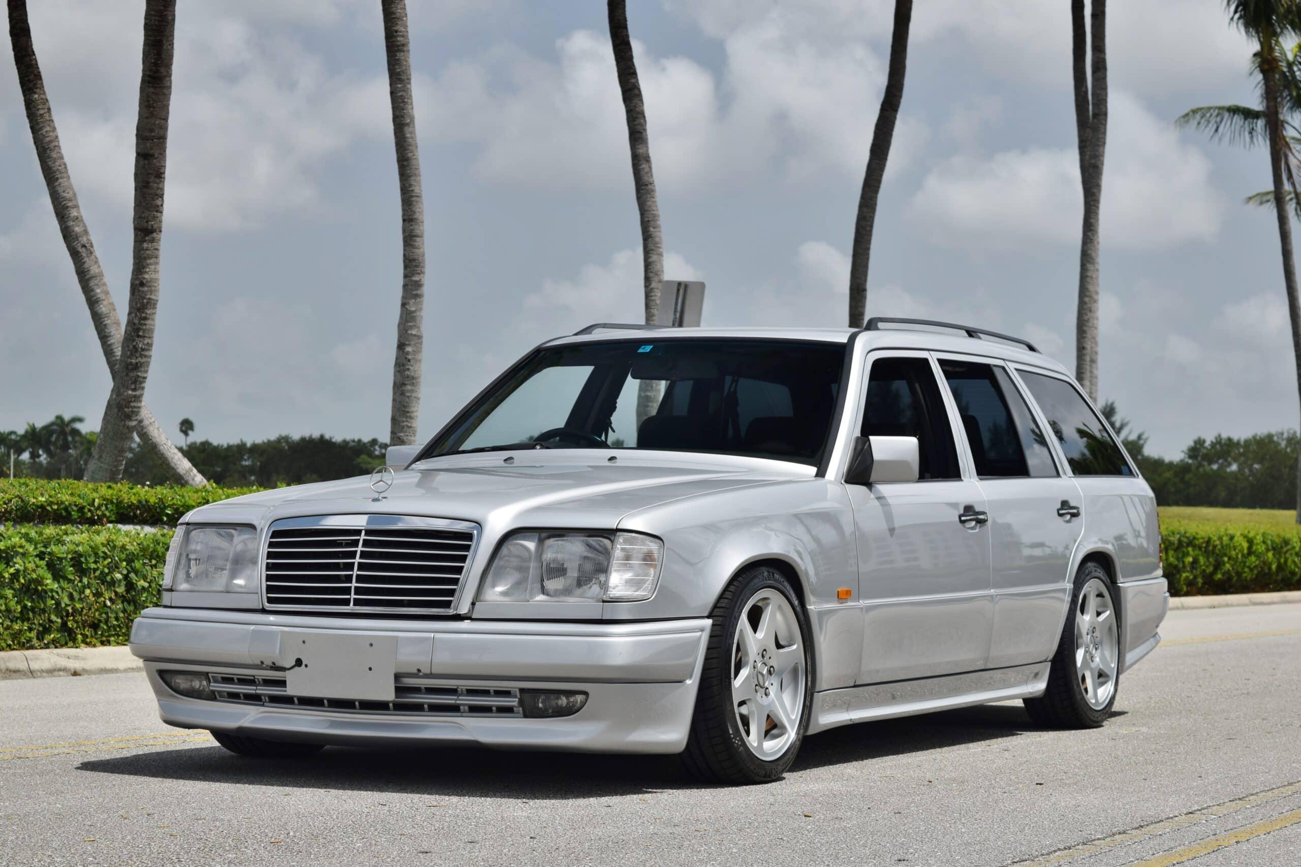 1994 Mercedes-Benz E-Class S124 Wagon RHD Euro – AMG Aero – EVO Wheels – Adjustable Koni's – ONLY 61K Miles – LIKE NEW