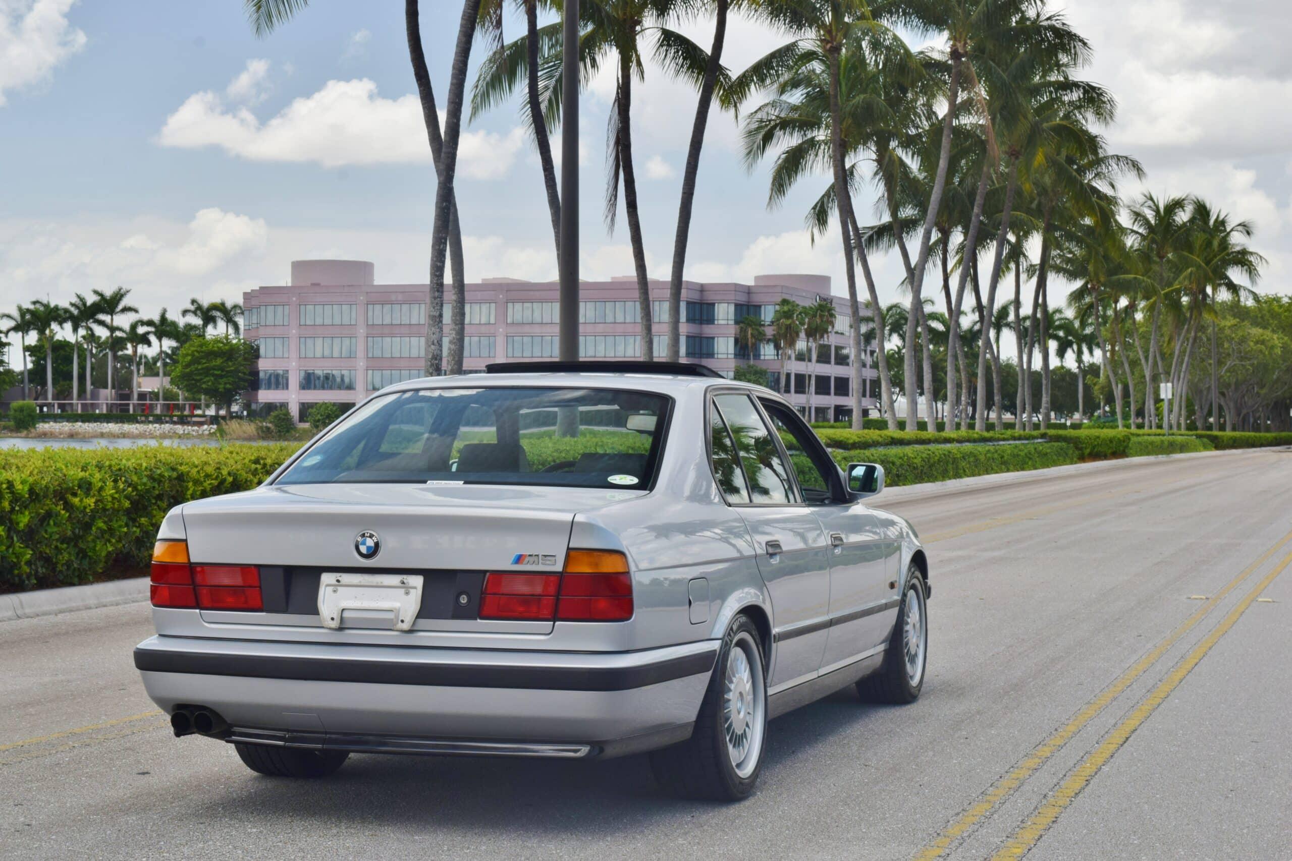 1991 BMW M5 Euro E34 Hand Built S38-Turbine M Technic Wheels-Euro Motorsport Cloth Interior-LOW MILES