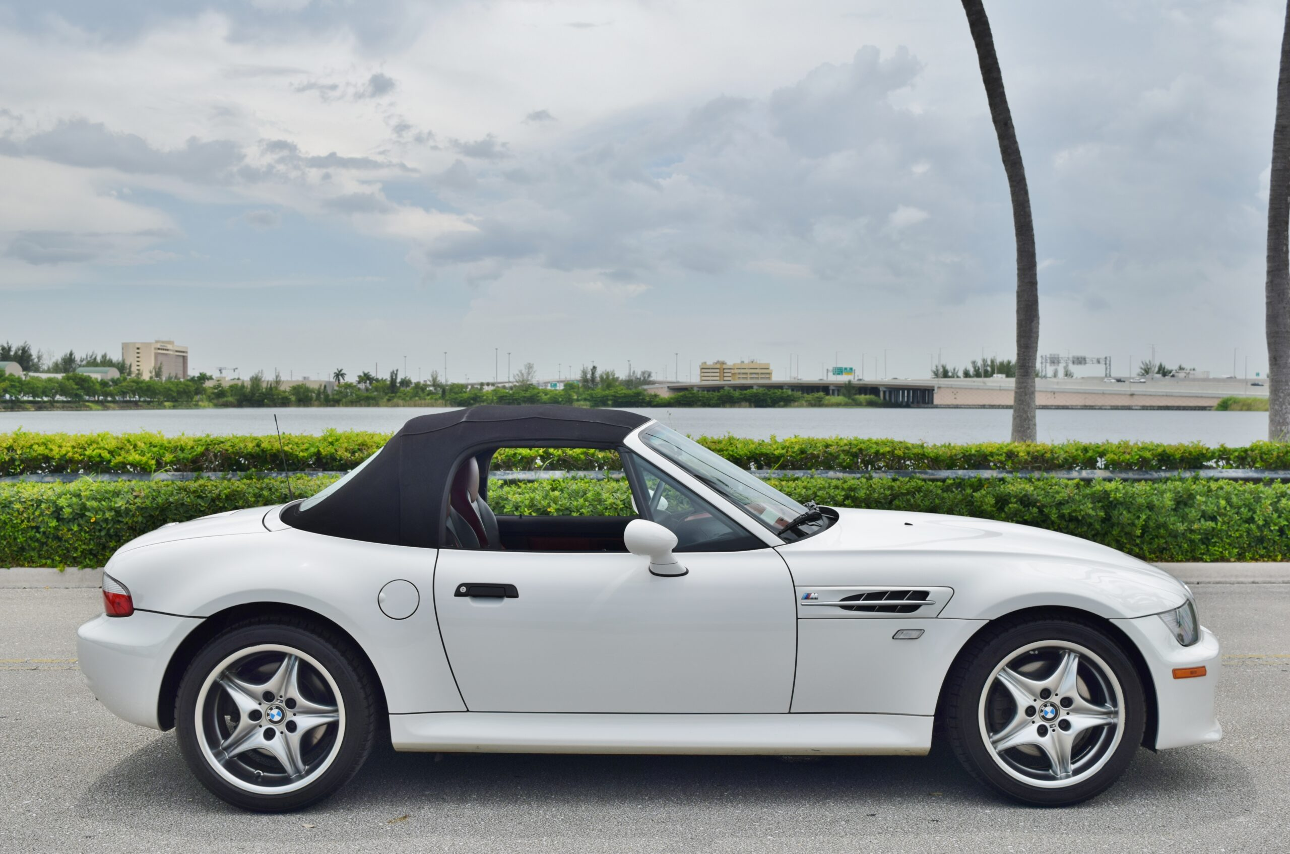 2002 BMW M Roadster & Coupe Last year Z3M Roadster 2 Owner- Only 40K miles – Rare White/Red color combination- 4 Keys-Books/Manuals