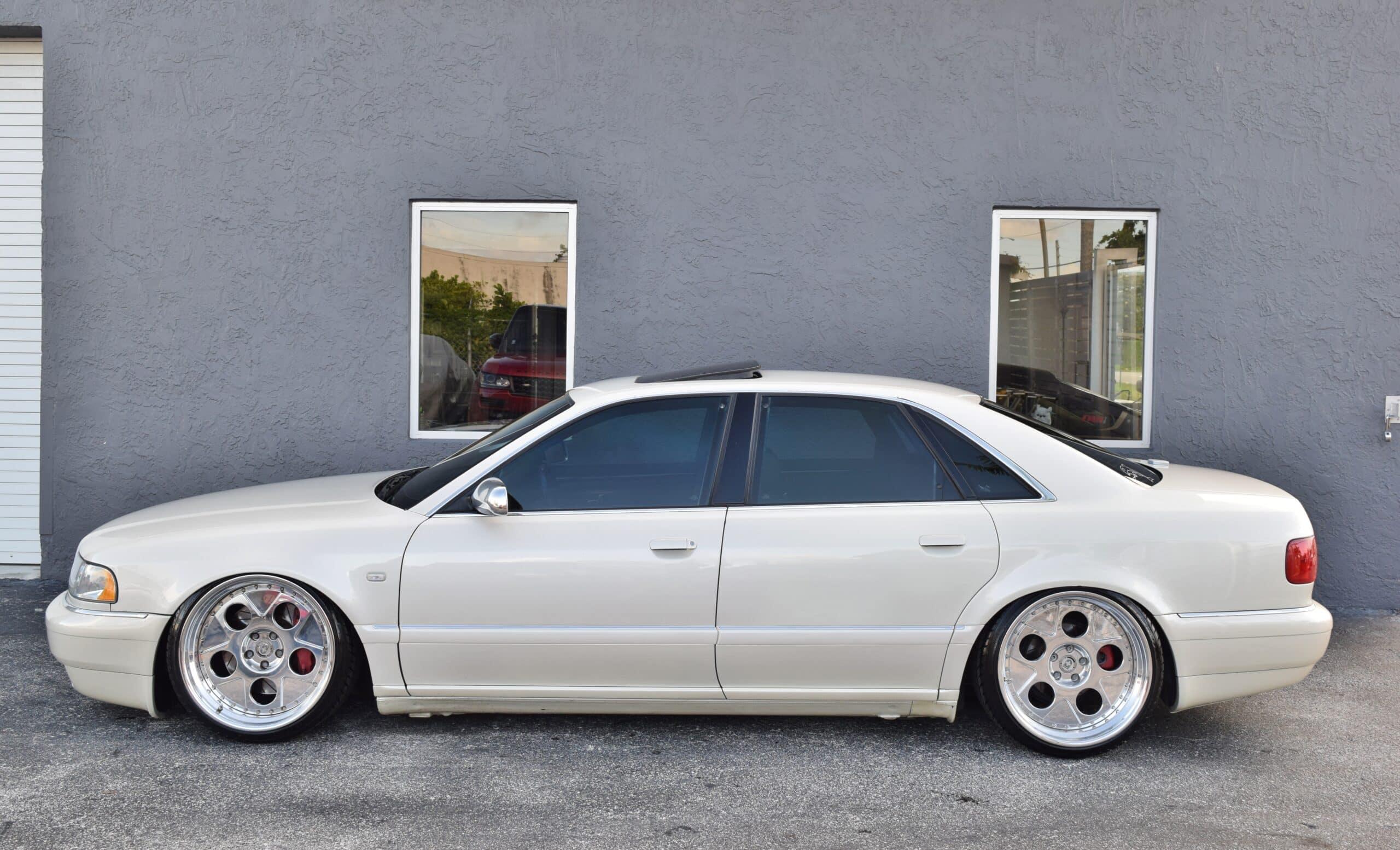 2002 Audi S8 Only 80K Miles-Custom airlift suspension-Custom HRE Wheels-Custom Sound System