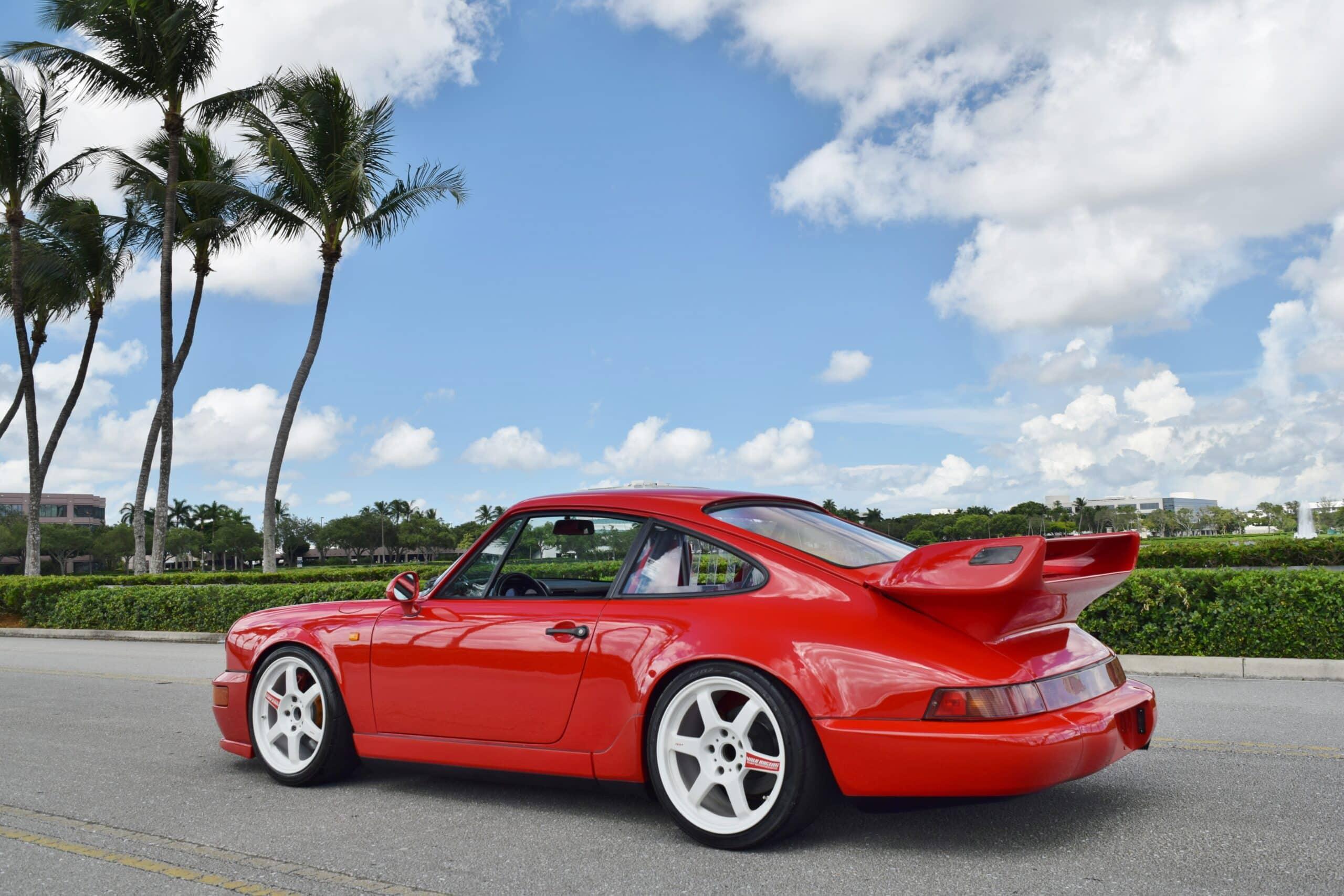 1990 Porsche 911 964 Carrera 2 LOW Miles- Euro- Slicktop- LSD- Recaro Seats- Volk Wheels- Matter Cage- 5 Speed