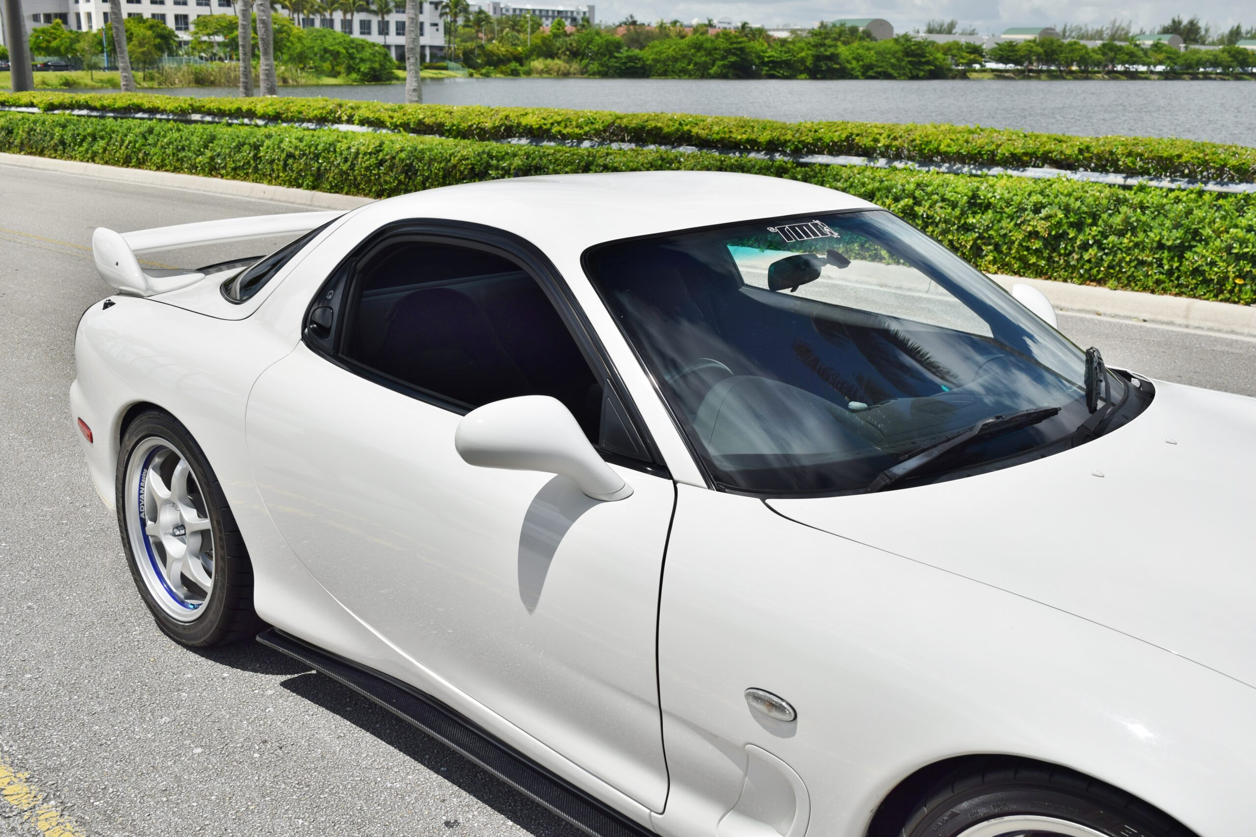 1999 Mazda RX-7 Twin Turbo FD3S JDM R1-Only 76K Miles-Unmodified Motor-Advan Racing Wheels-Toms Advox Coilovers