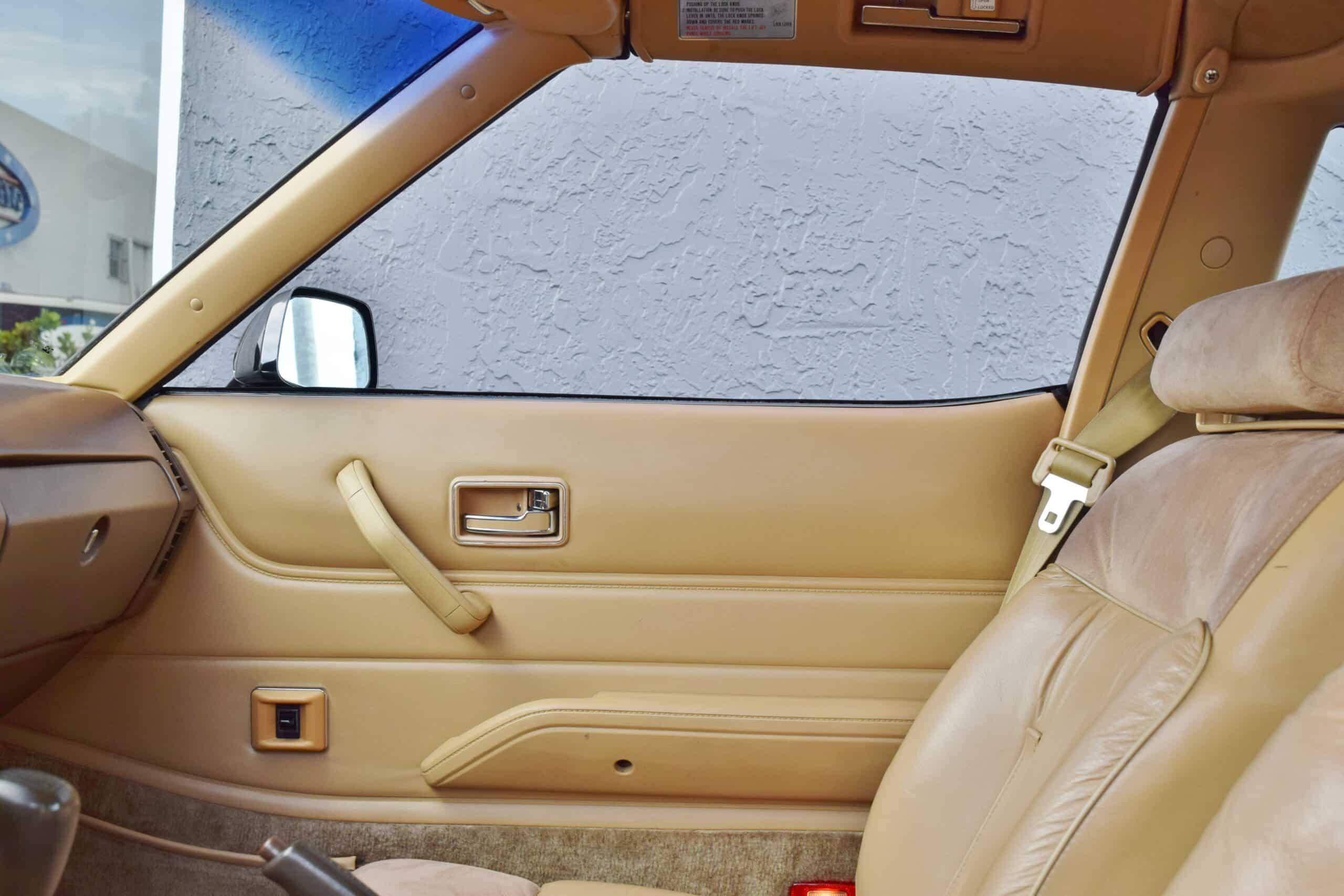 1982 Datsun Z-Series 280ZX 1 Owner-California Car-100% Stock-Original Window Sticker-Full Service History