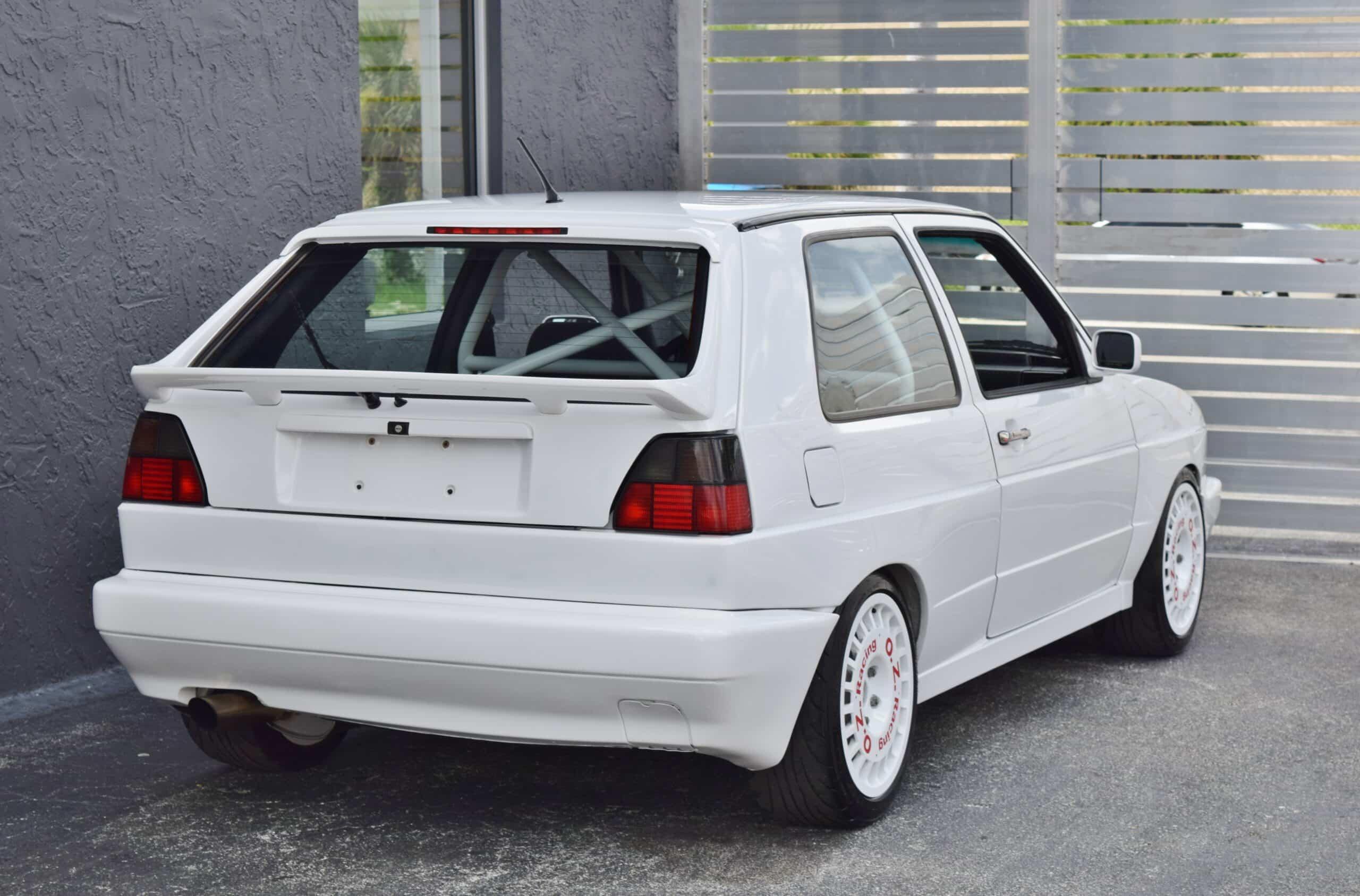 1990 Volkswagen Golf MK 2 Rallye Tribute Metal Widebody-VR6-Recaro Seats-OZ Racing Wheels-Cage-CAE Shifter