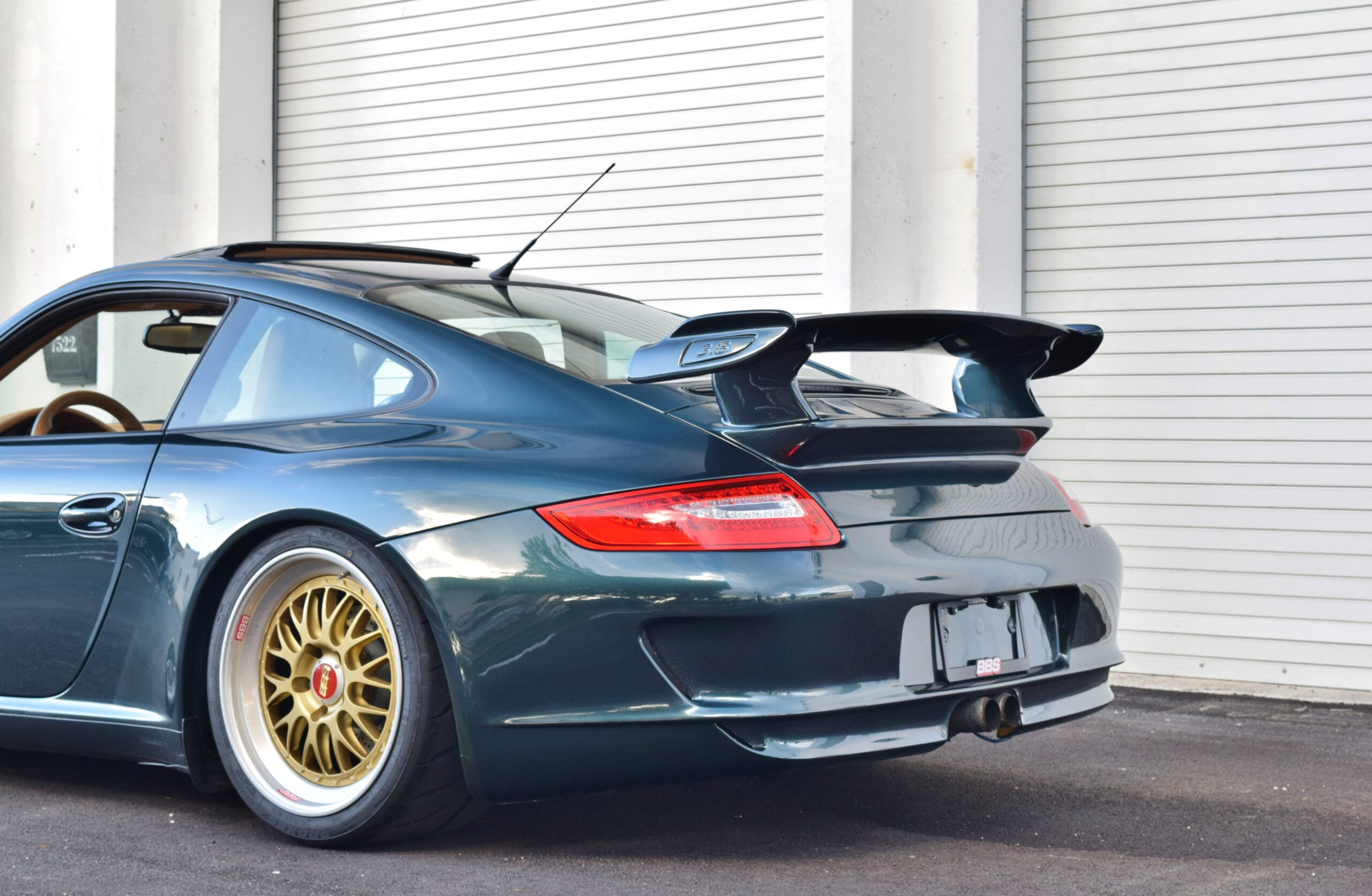 2005 Porsche 911 997 GT3 Look Only 35K Miles-Original Forest Green-BBS Wheels-IMS Done-Fortune Auto Coilovers