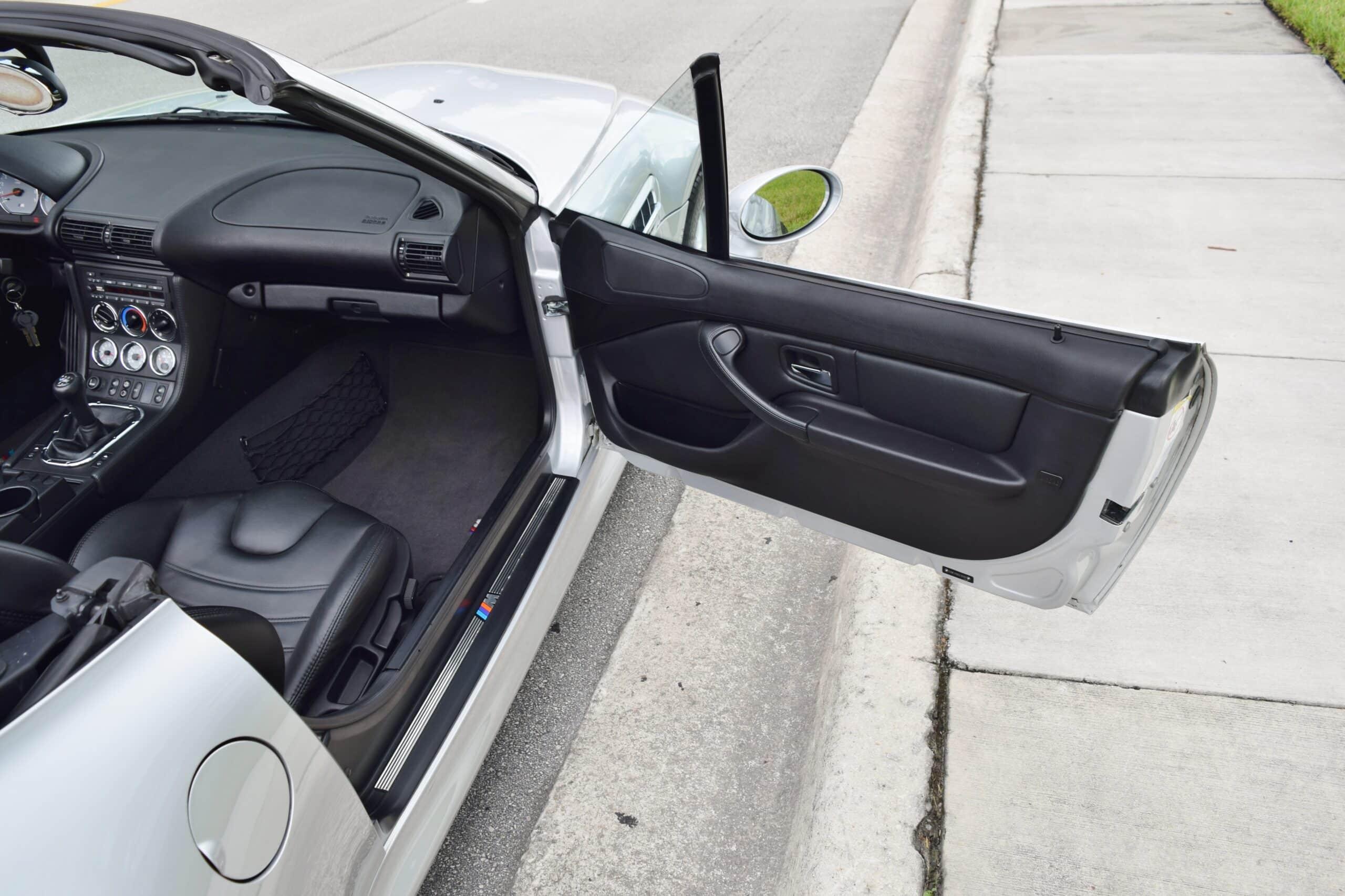 2002 BMW Z3M Roadster ALL Original Paint -ONLY 43K MILES- LAST YEAR Z3M- S54 – Original window sticker
