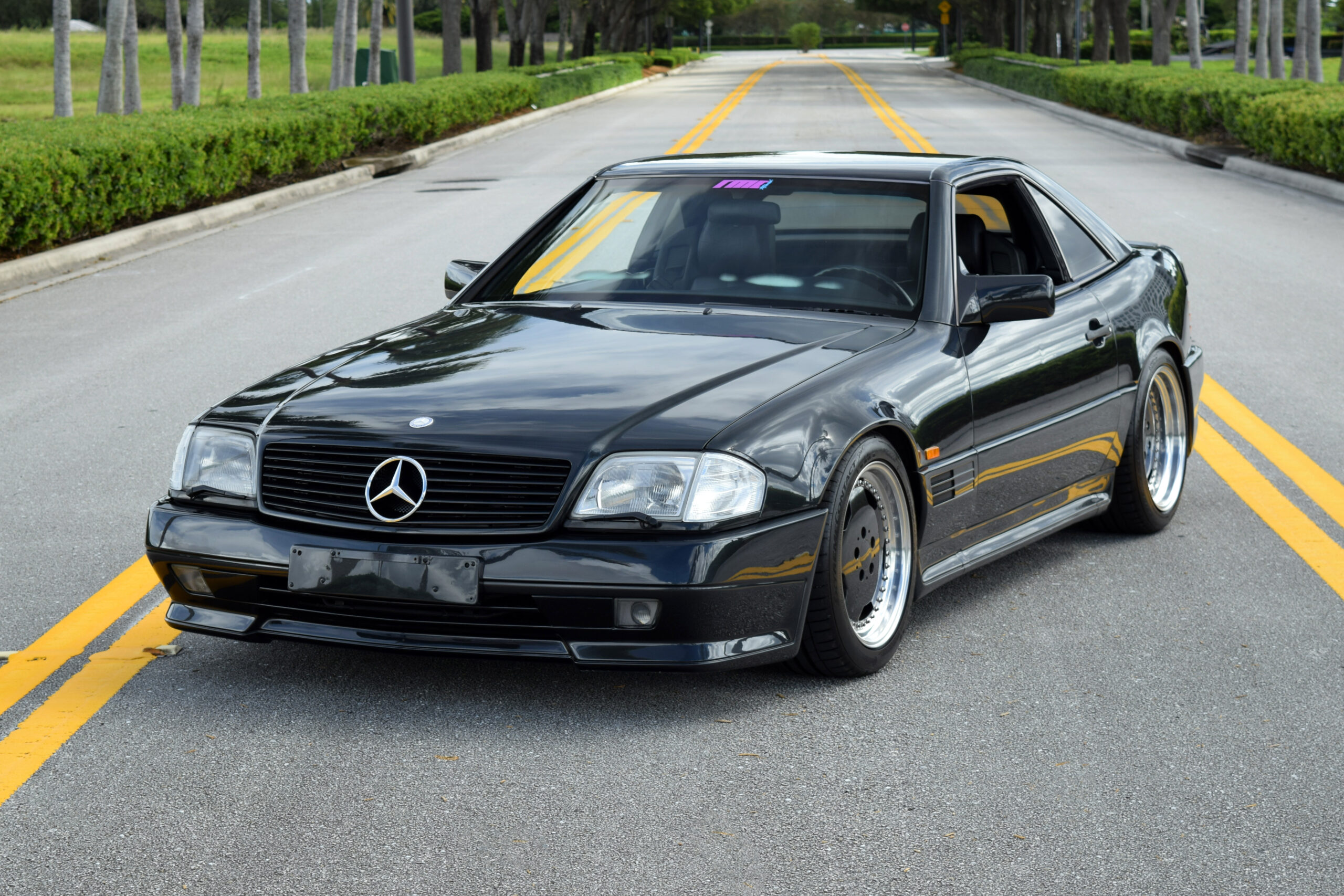 1991 Mercedes 500SL 6.0 AMG, one of 50 ever made, Pre-merger