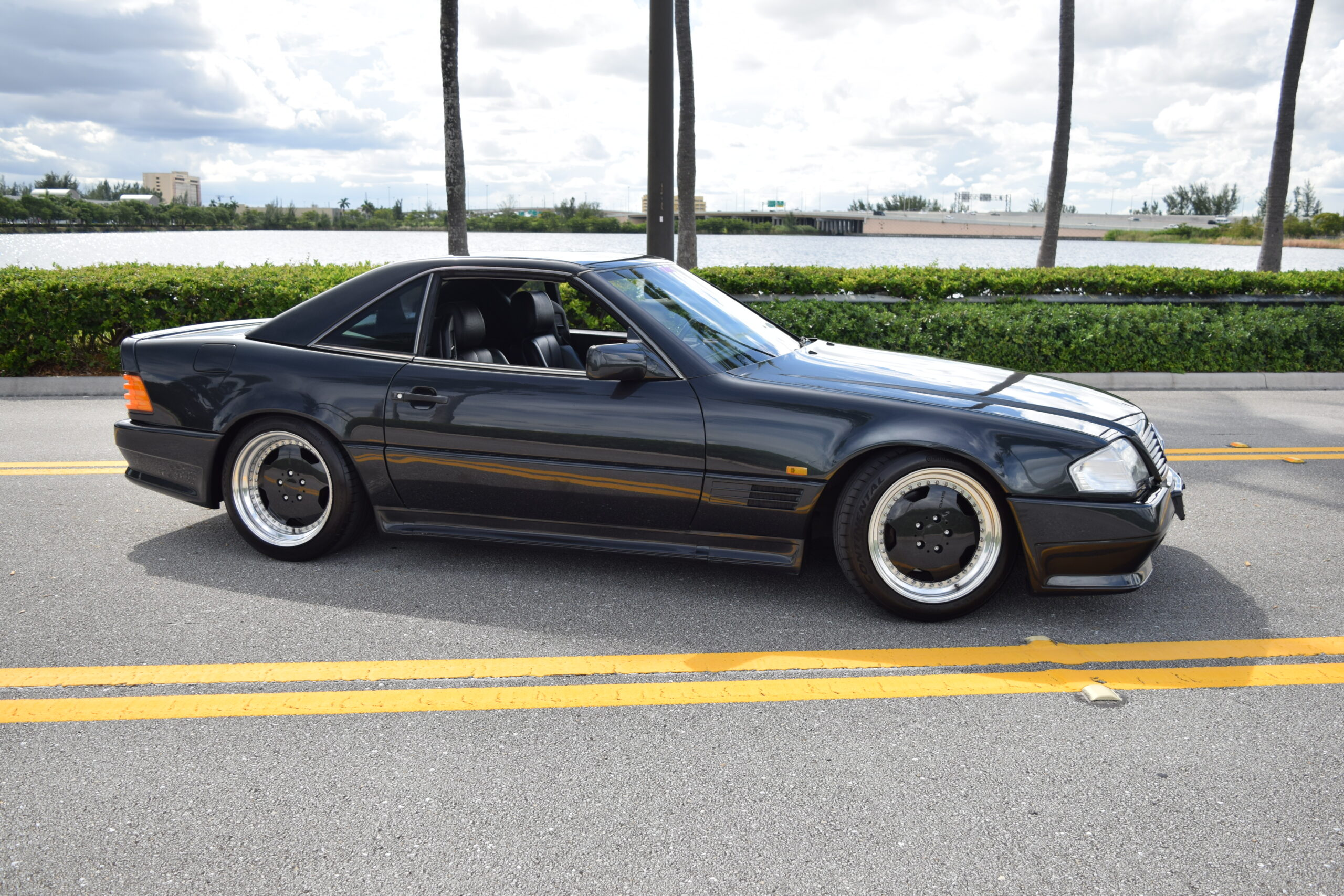 1991 Mercedes 500SL AMG, one of 50 ever made, Pre-merger
