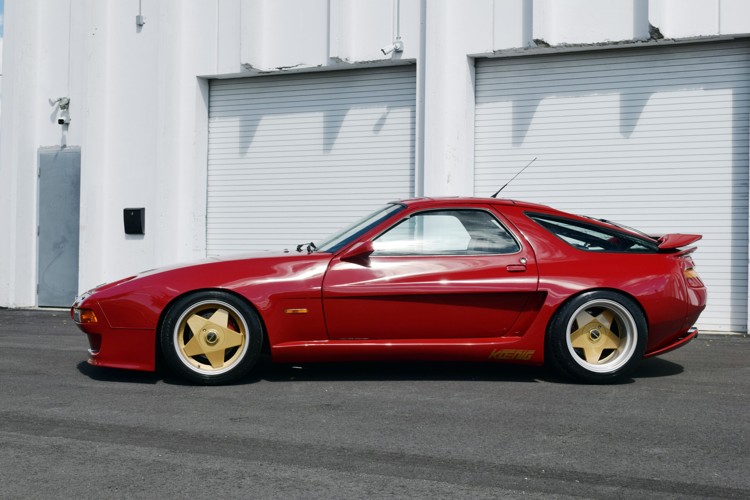 Authentic Koenig Specials Porsche 928, one of a handful ever made, Borbert A wheels, true time machine