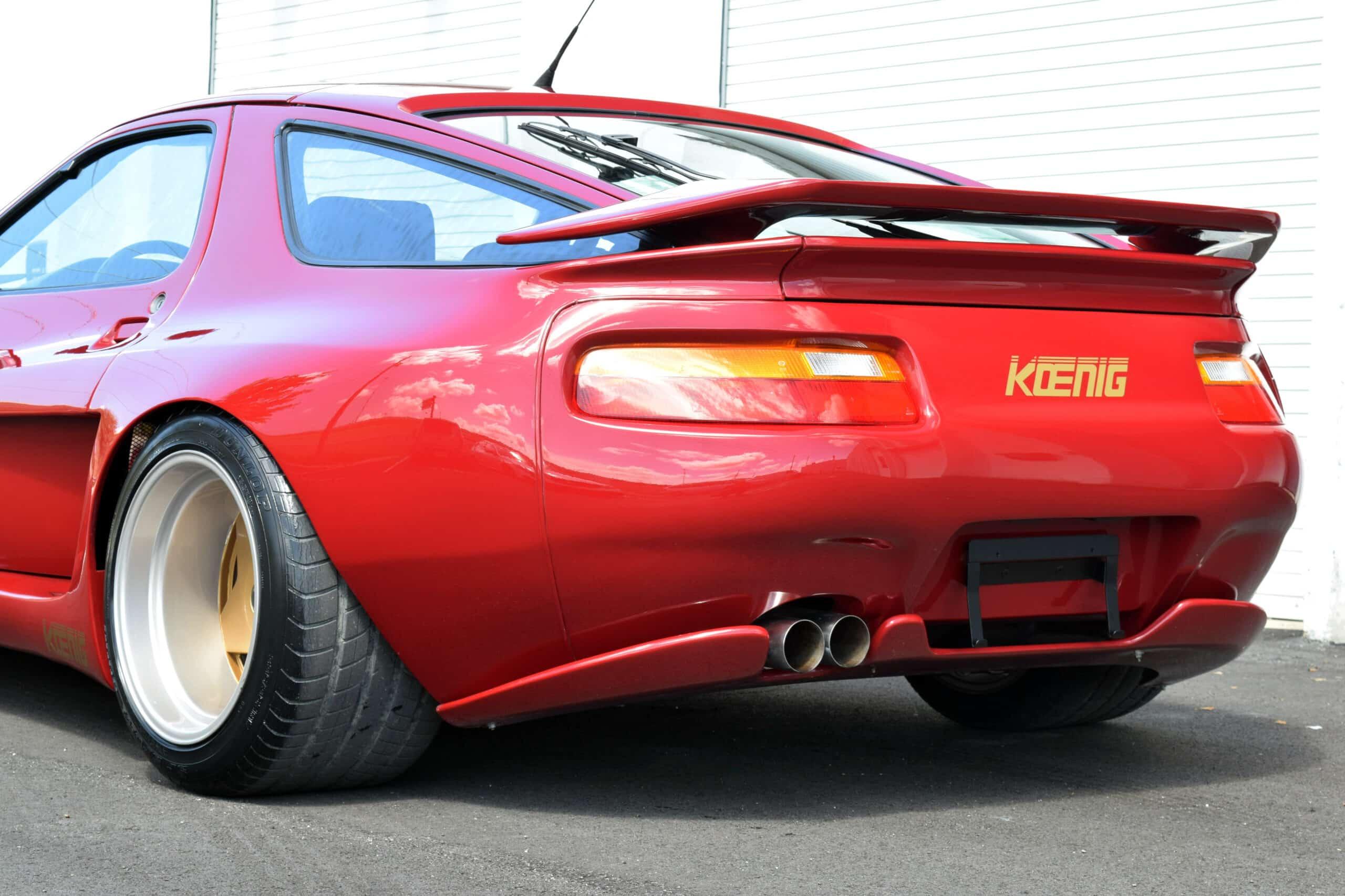 Authentic Koenig Specials Porsche 928, one of a handful ever made, Borbert A wheels, true time machine