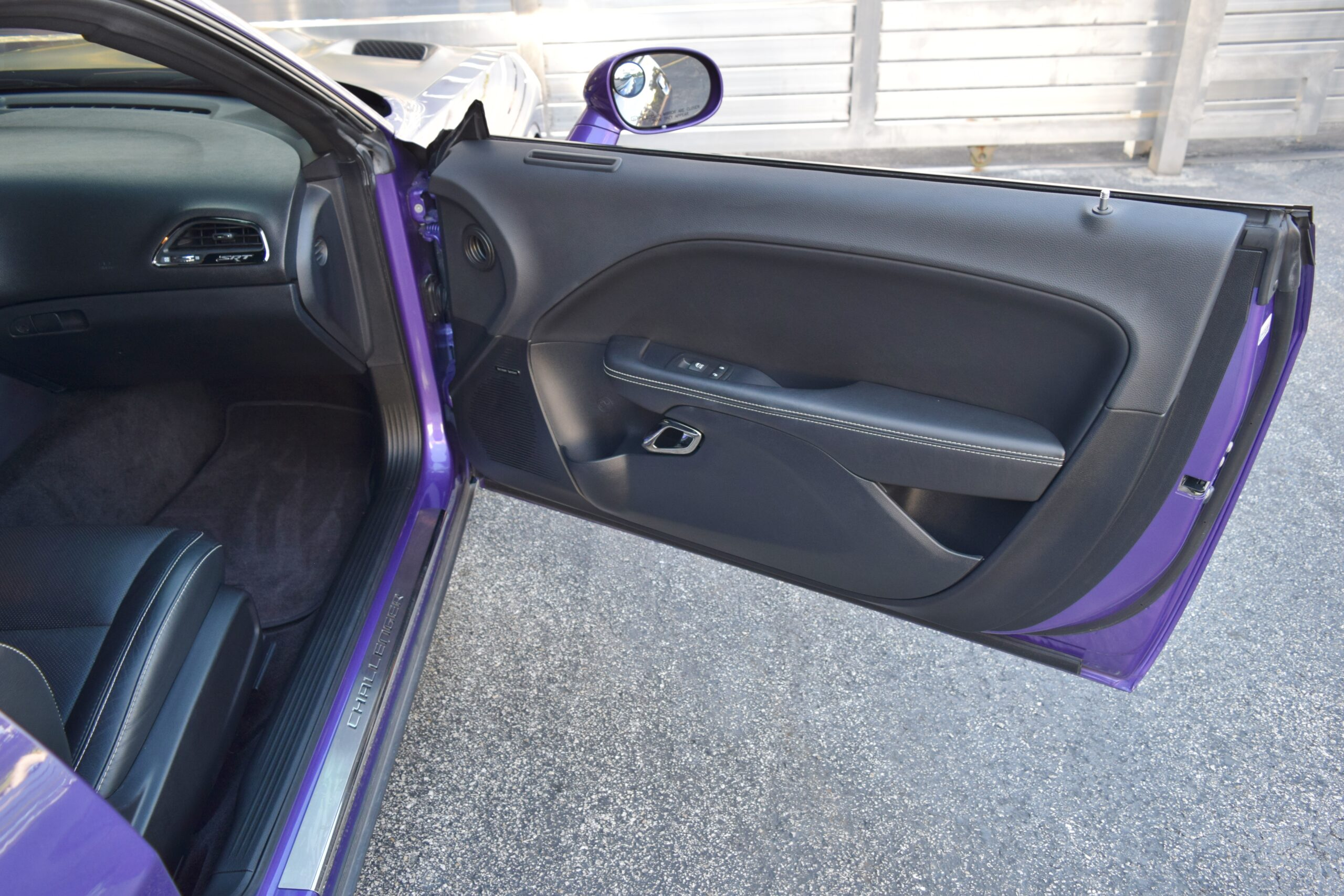 2016 Dodge Challenger SRT HELLCAT Supercharged HEMI ONLY 14K MILES! Plum Crazy Pearl- Corsa Exhaust – FULLY LOADED -HEMI 26R Package