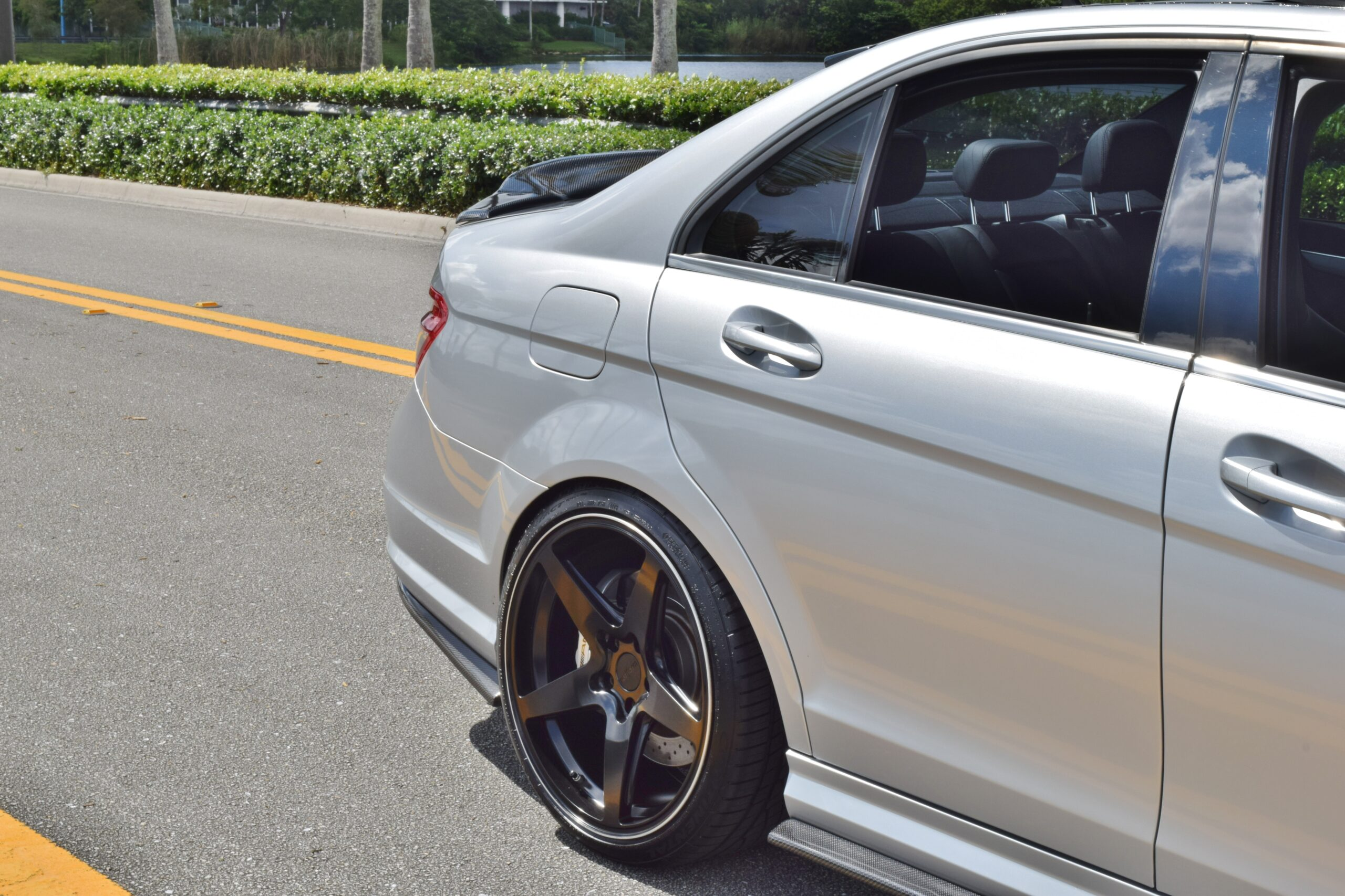 2008 Mercedes-Benz C-Class C63 AMG W-204 -Fully Loaded RENNTECH Tuned- 500+ HP- ONLY 50K Miles Carbon Aero LIKE NEW
