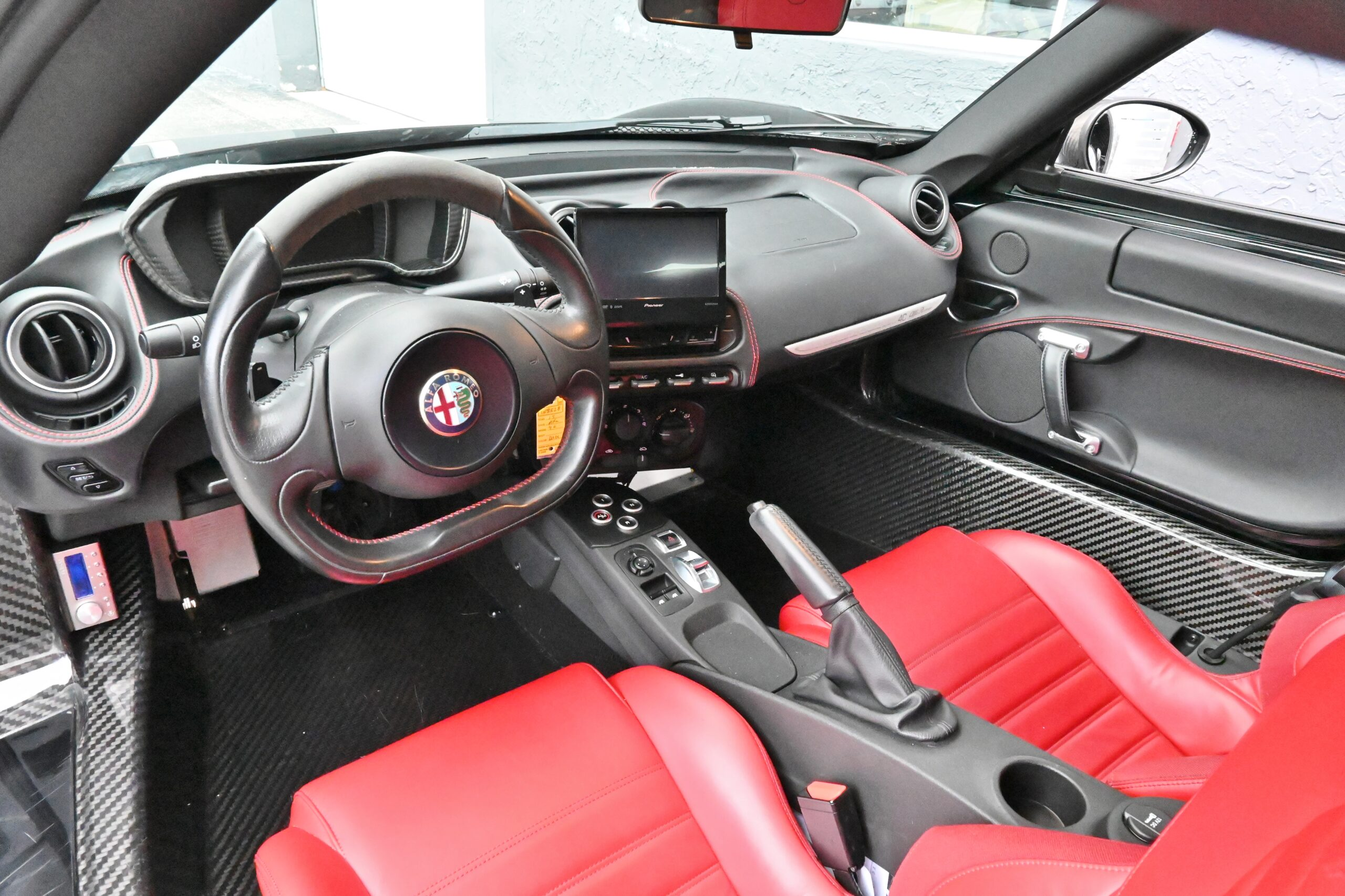2015 Alfa Romeo 4C Only 24K Miles/ Original Paint/ Fresh Major Service At Dealership/ Fully LOADED