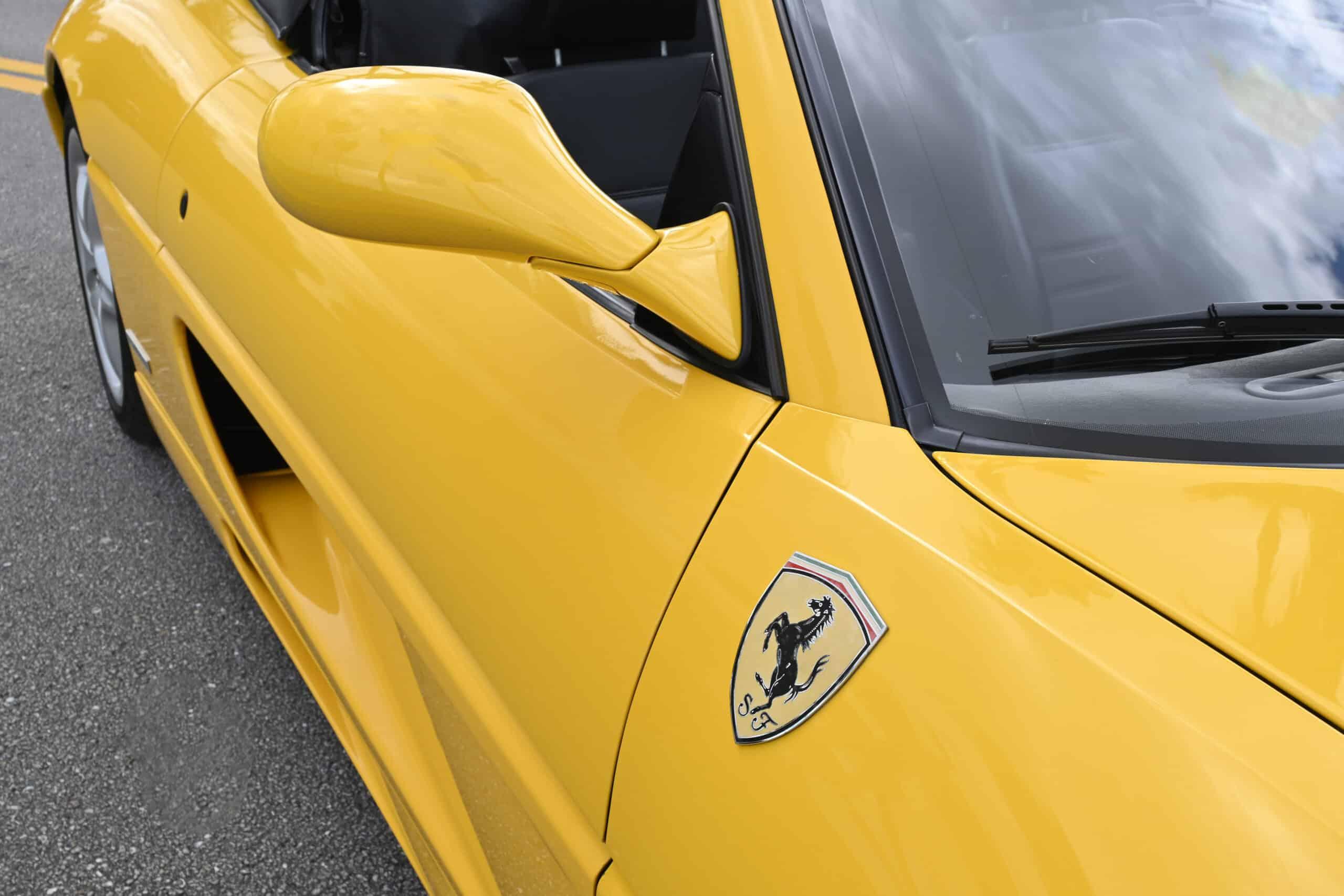 1997 Ferrari F355 Spider, 6-speed gated!, 20K miles records, Challenge Grille, original paint.