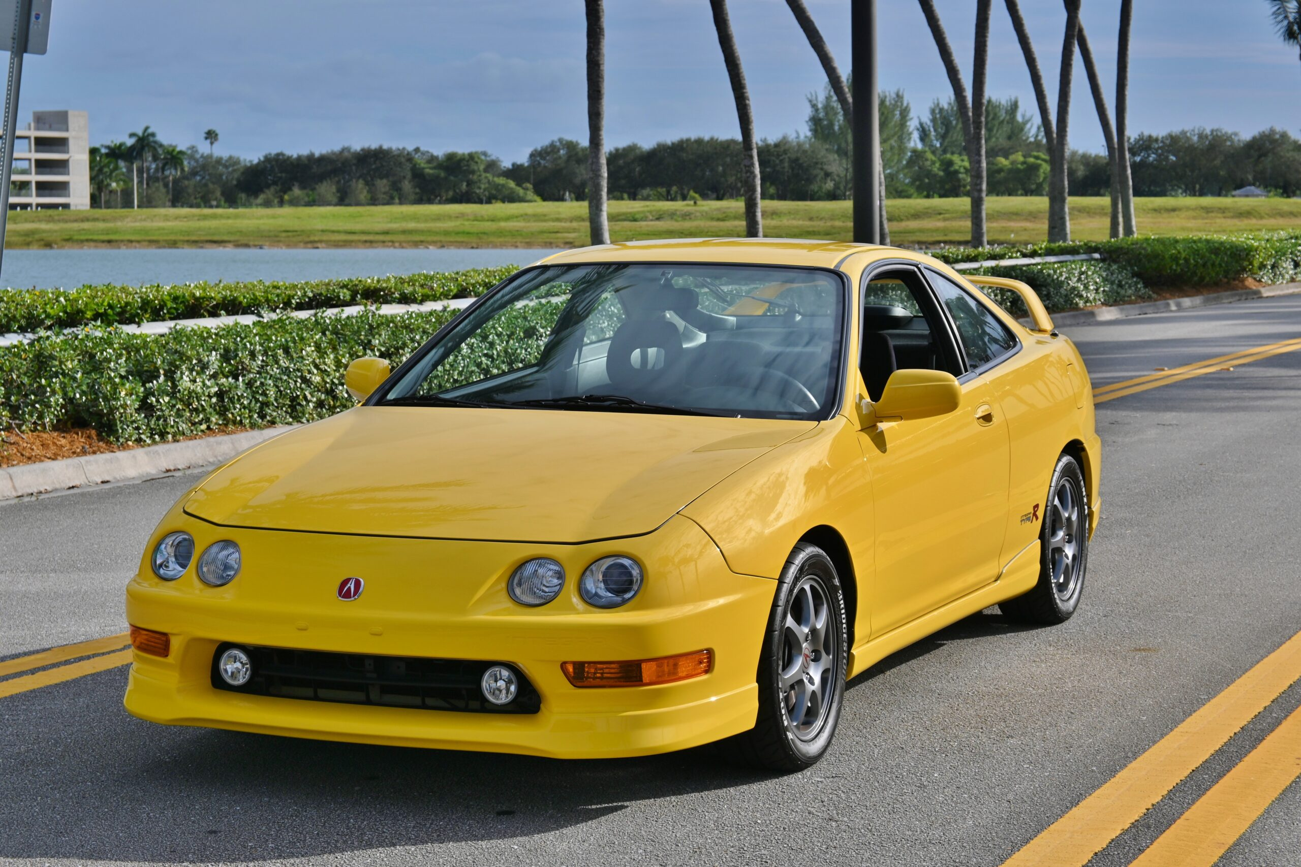 2001 Acura Integra Type R Rare Phoenix Yellow / Original Paint / 100 % Stock/ 87k Original Miles /Like NEW
