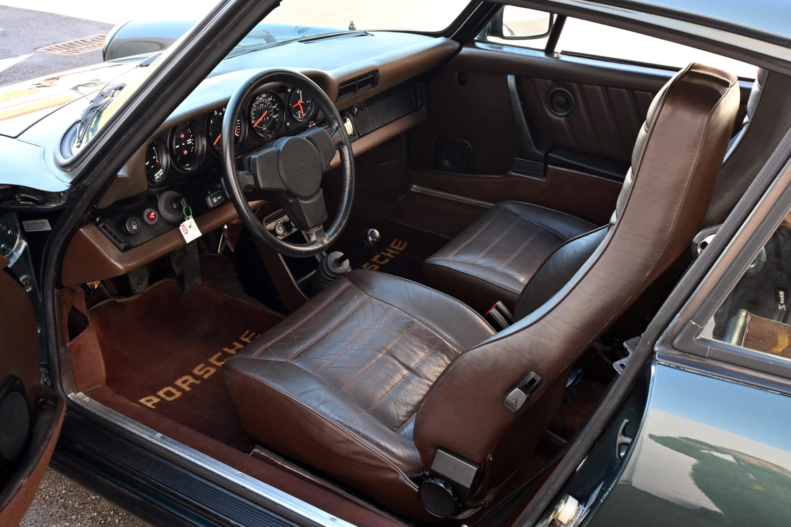 1983 Porsche 911 SC, One owner, 38K Actual and Documented miles,with stamps from Porsche dealer and receipts – Original 1982 Pirelli Cinturato P7 tires and rare Moss Green mostly original paint