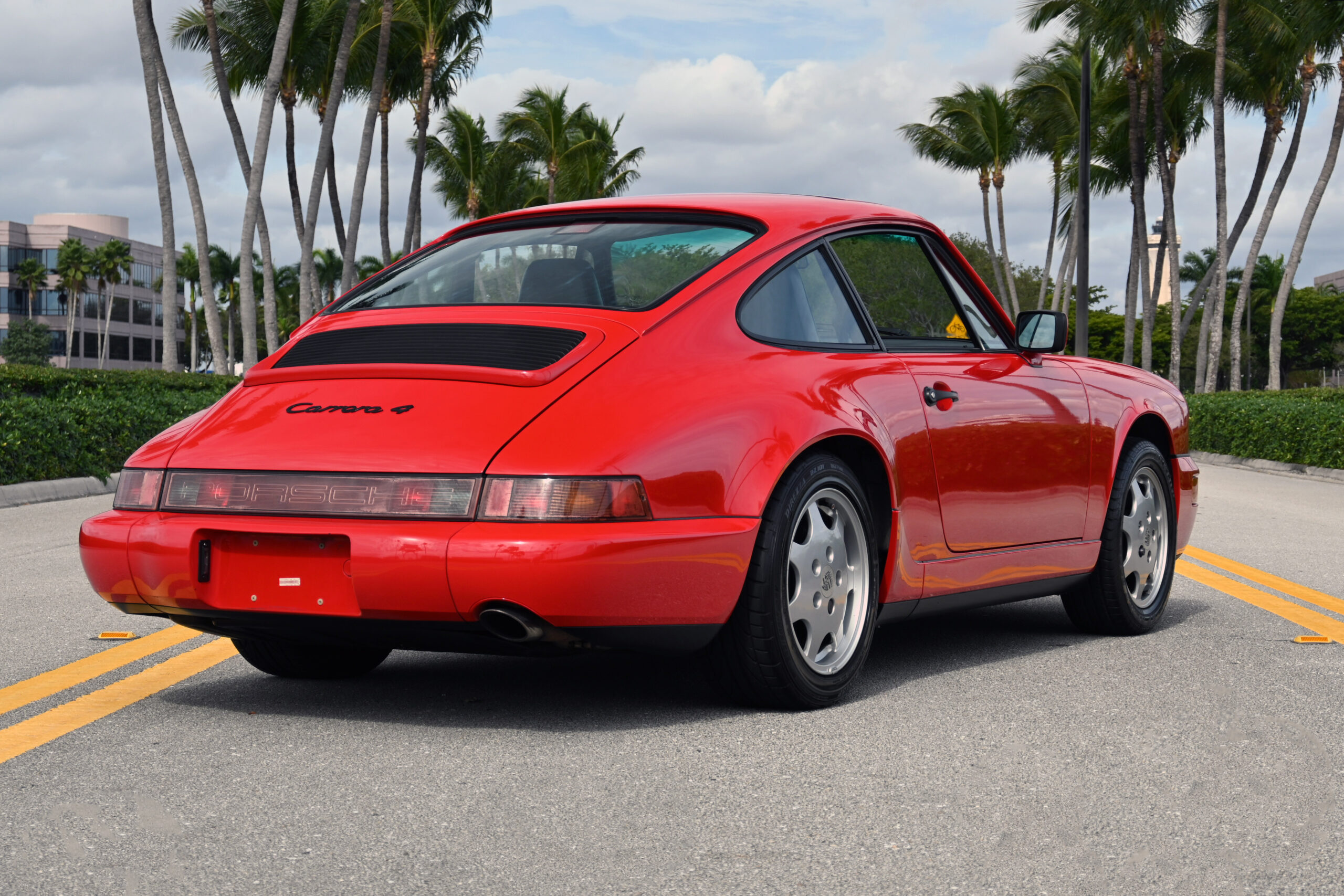 1989 964 Carrera 4, low miles, Original Paint and condition, documented service