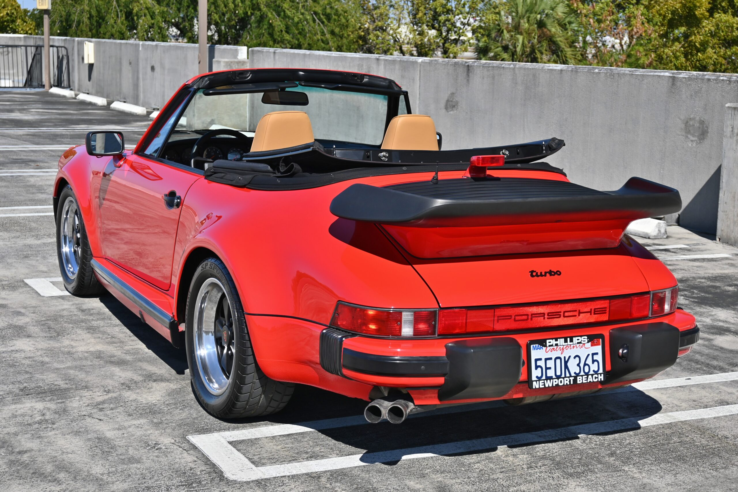 1989 Porsche 930 Turbo 911 California Car/Special Wishes Options/5 Speed/COA/ Engine Out Service/ Like New!
