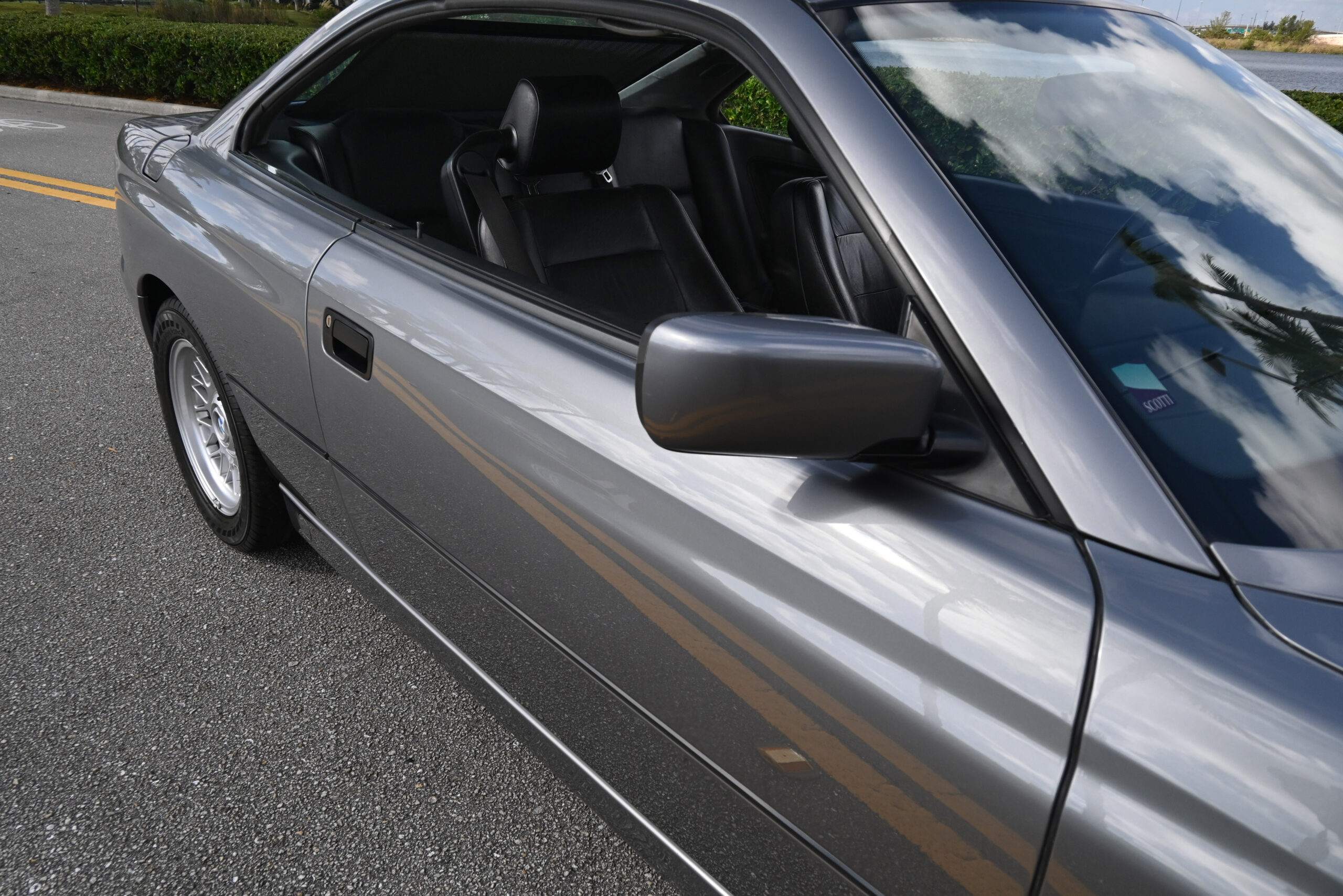 1991 BMW 850i, rare 6-speed, RoW vehicle, one of 427 Granite Silver E31s ever made, Sports Exhaust, cold A/C