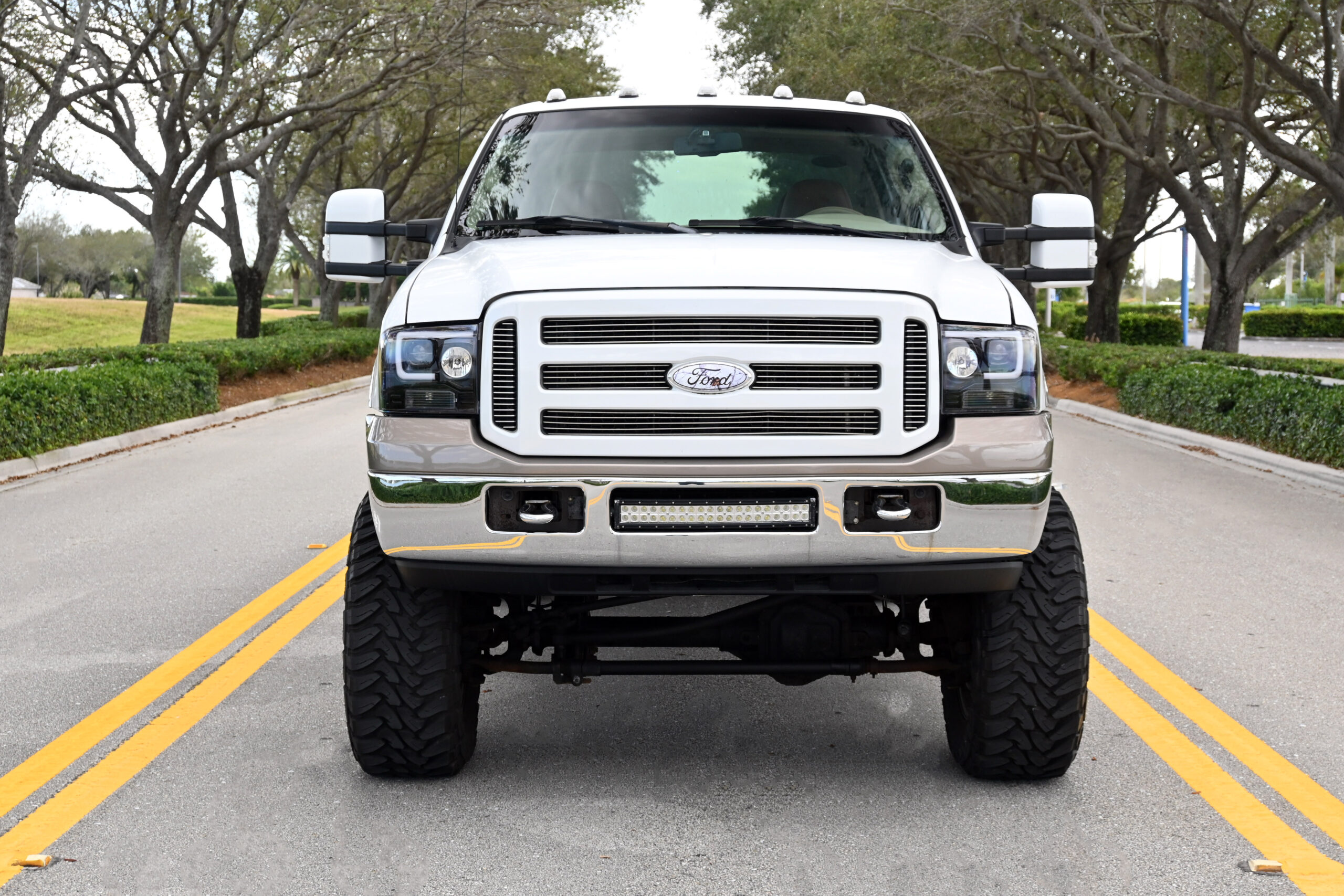 2006 Ford F250 4×4 Super Duty, Crew Cab, King Ranch, low miles, 6 Inch Lift, 37 inch tires