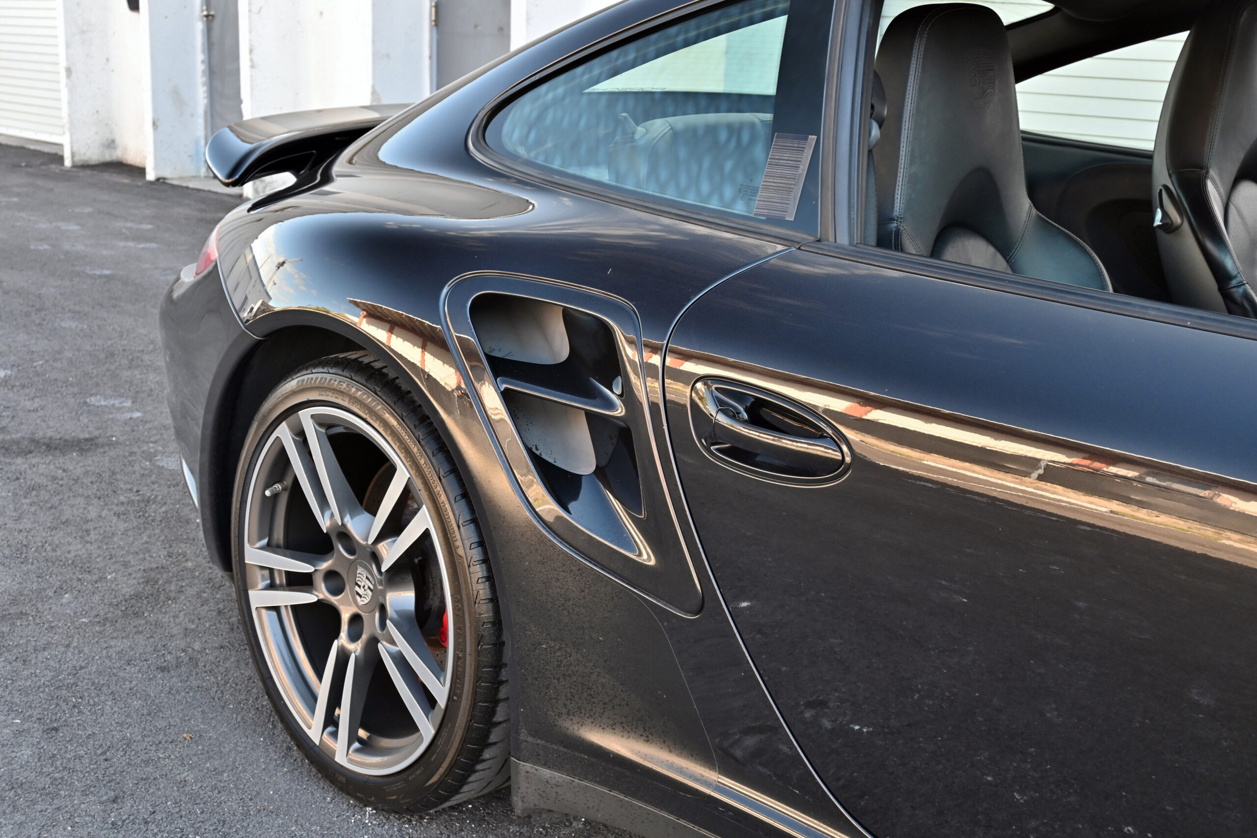 2008 Porsche 997 Turbo, 6-speed manual, Sports Seats, fully serviced and documented, Fabspeed exhaust, Pinned Coolant Lines, Fresh service