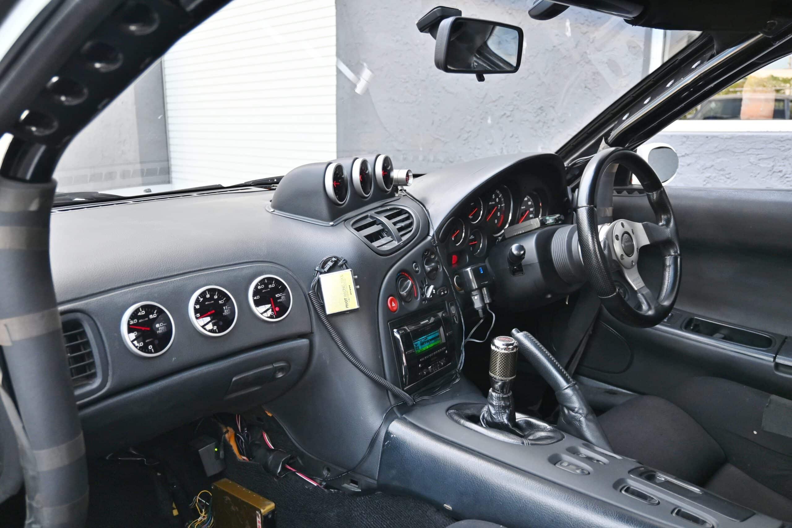 1993 Mazda RX-7 FD3S Efini Street/Track Street port T04R Single Turbo-Ohlins Coilovers-LSD-Titanium Exhaust-Brembo Brakes
