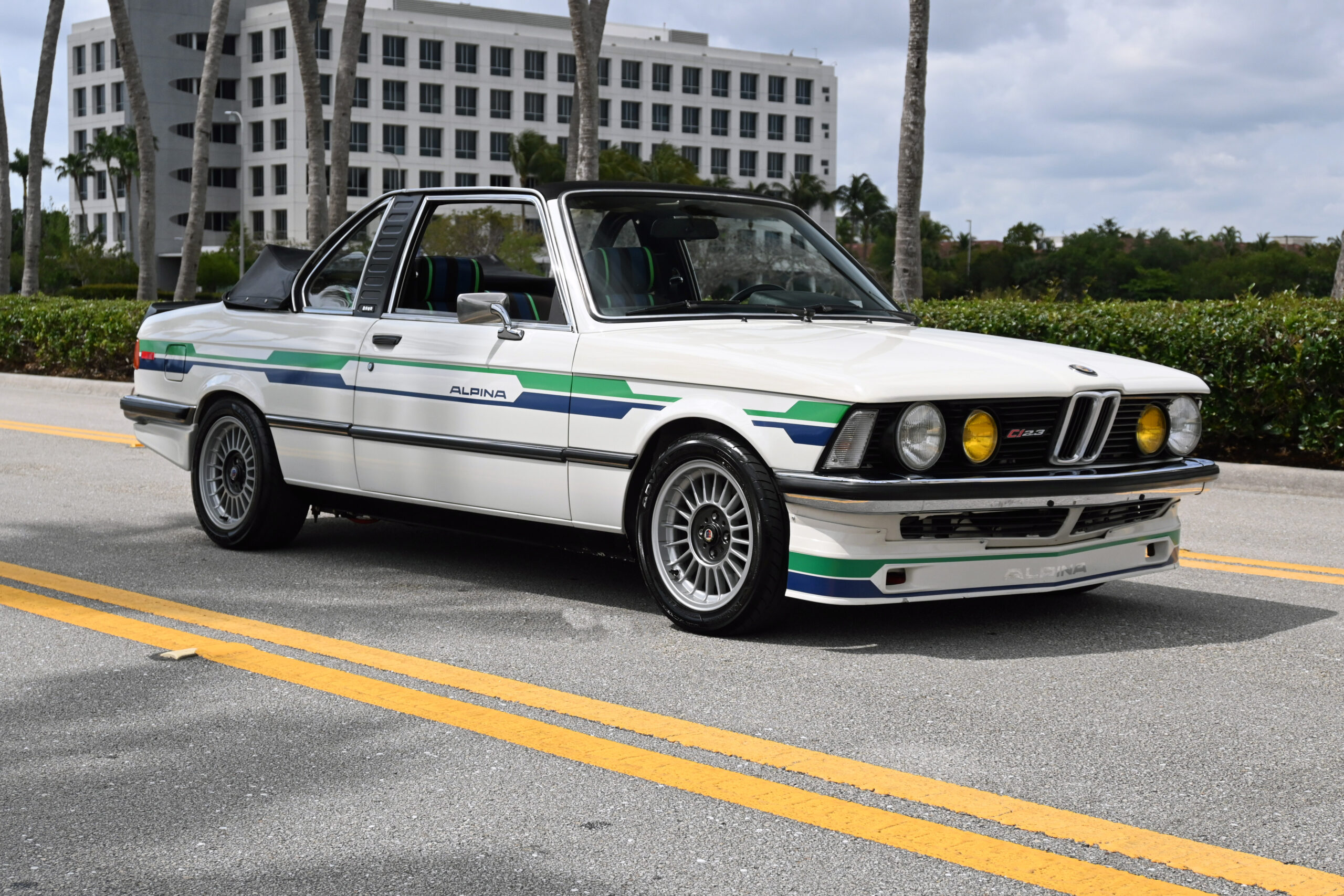 1979 BMW 320 Baur.  Rare authentic Baur coach work, Alpina upgrades, Schnitzer 2.7 Stroker Engine, Big Brakes incredible build