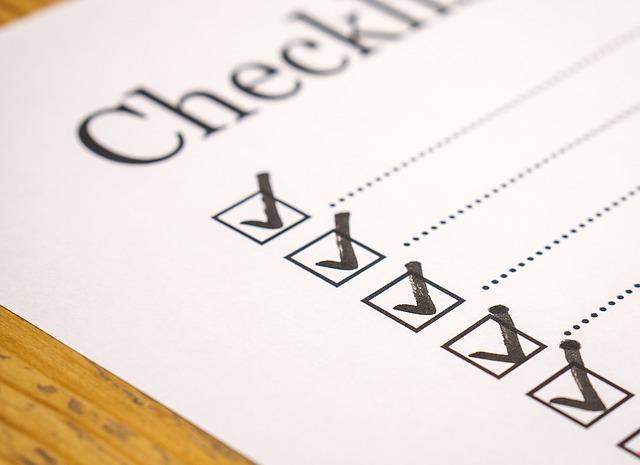 Mark Marker Check Checklist Checked Writing List