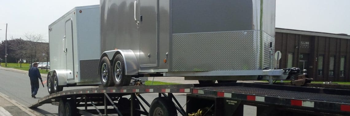 Custom trailers delivered to Fleet Specialties