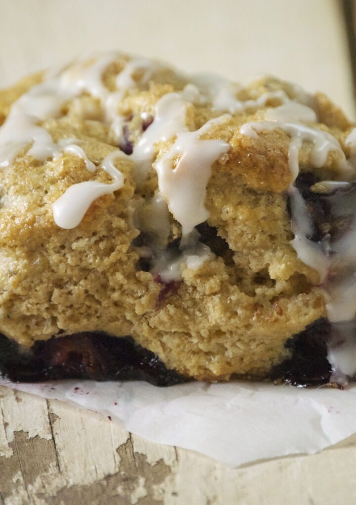 Blueberry Whole Grain Scones Are The Perfect Treat For The Whole Family