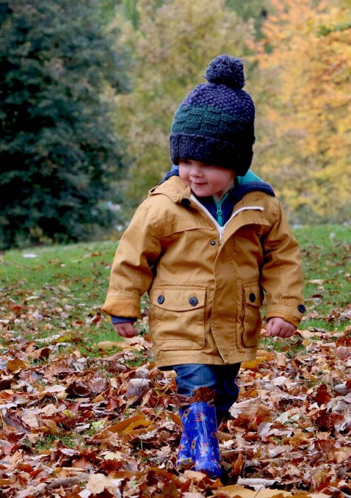 How To Get Kids Outside Even When It's Wet And Cold
