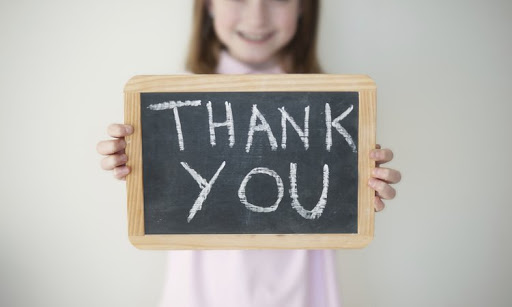 Helping Kids Say Thank You