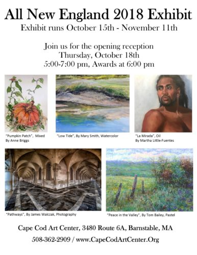 The All New England Opens at the Cape Cod Art Center
