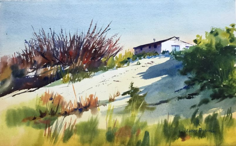 Larry Folding – Watercolor Painting Demonstration