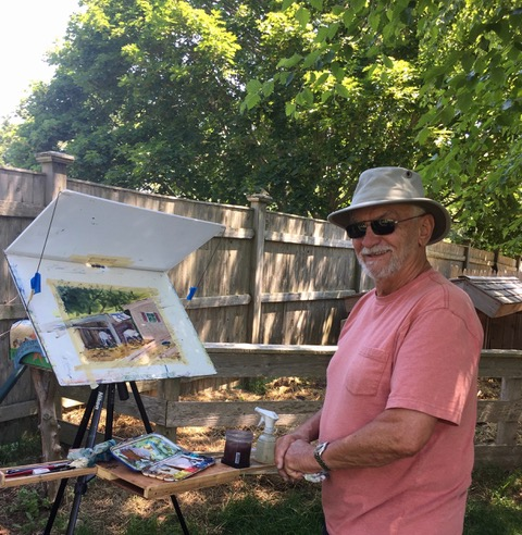 En Plein Air in West Harwich