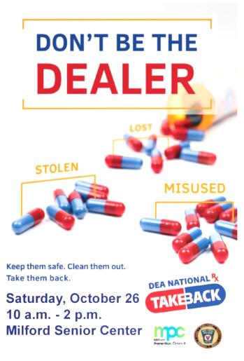 Drug Take Back Day – October 26, 2019