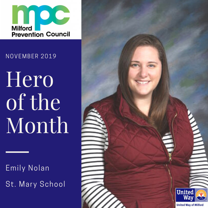 November 2019 Hero of the Month: Emily Nolan, St. Mary School